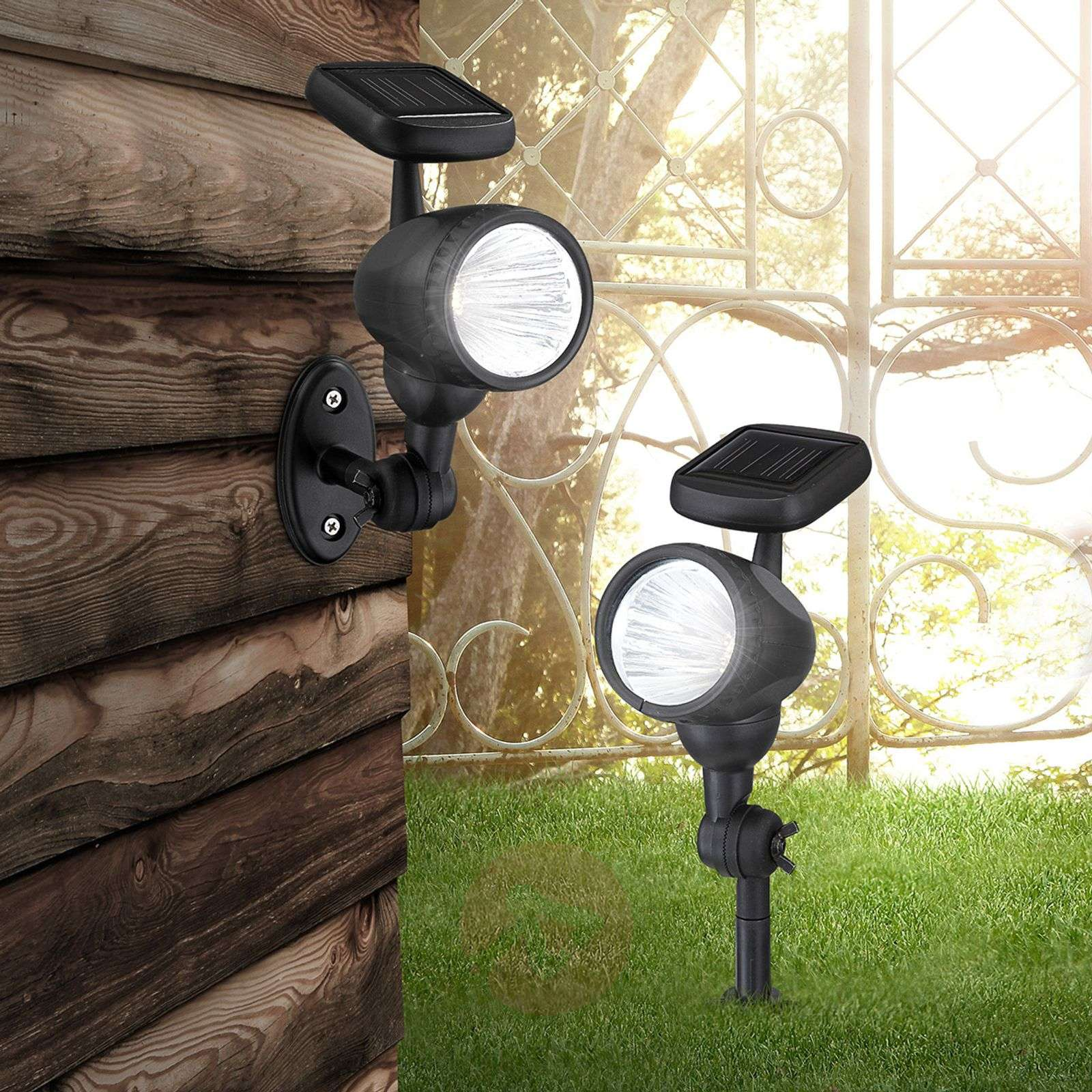 Solar outdoor wall light Mawe-4014993-01