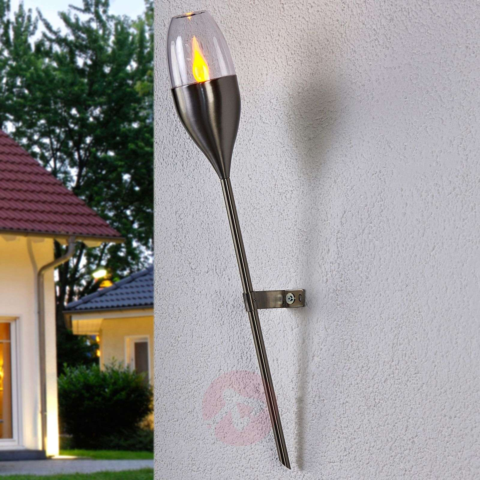 Solar wall light Jari with flickering LED-9945181-02