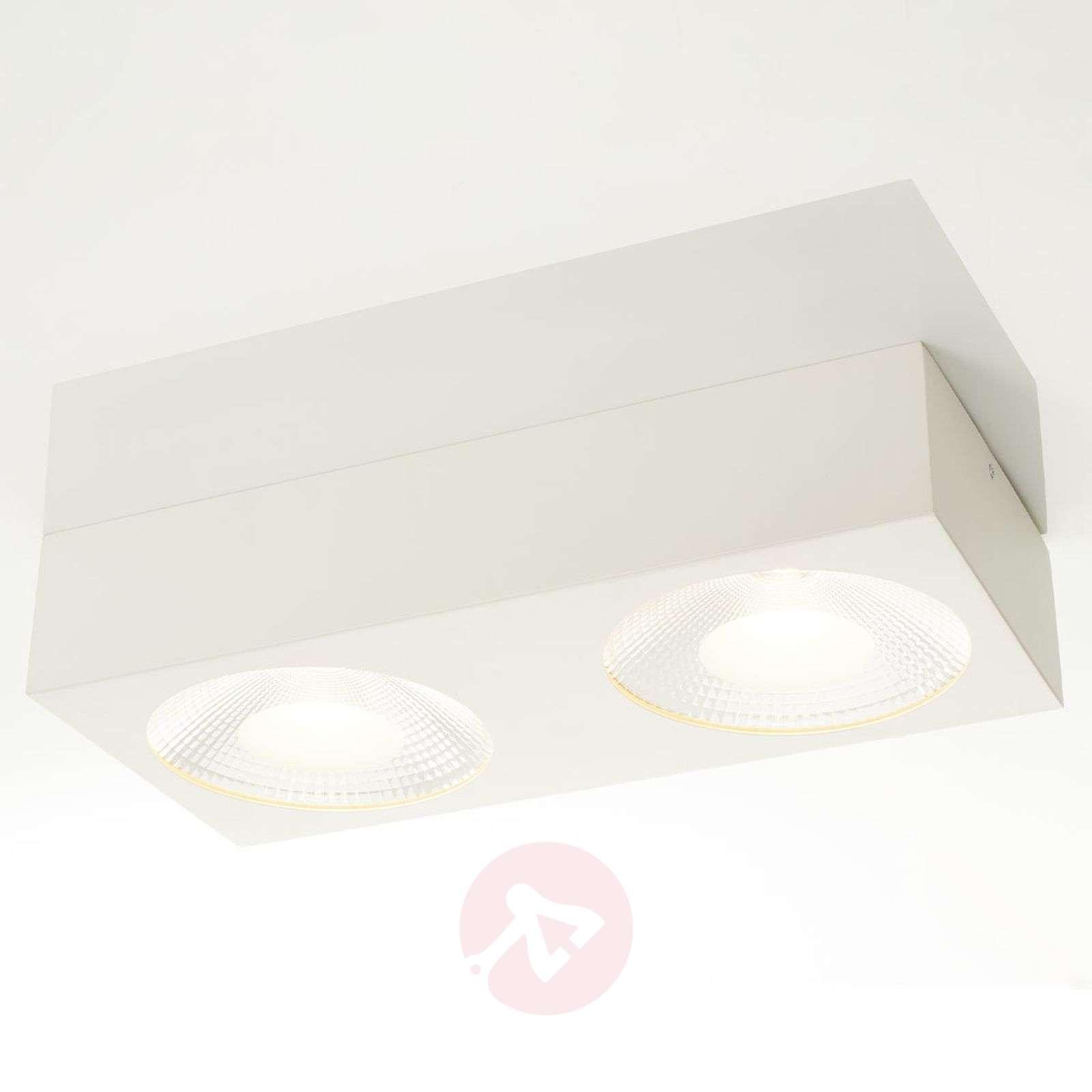 Sonja two-bulb LED ceiling light, Easydim-1558147-09