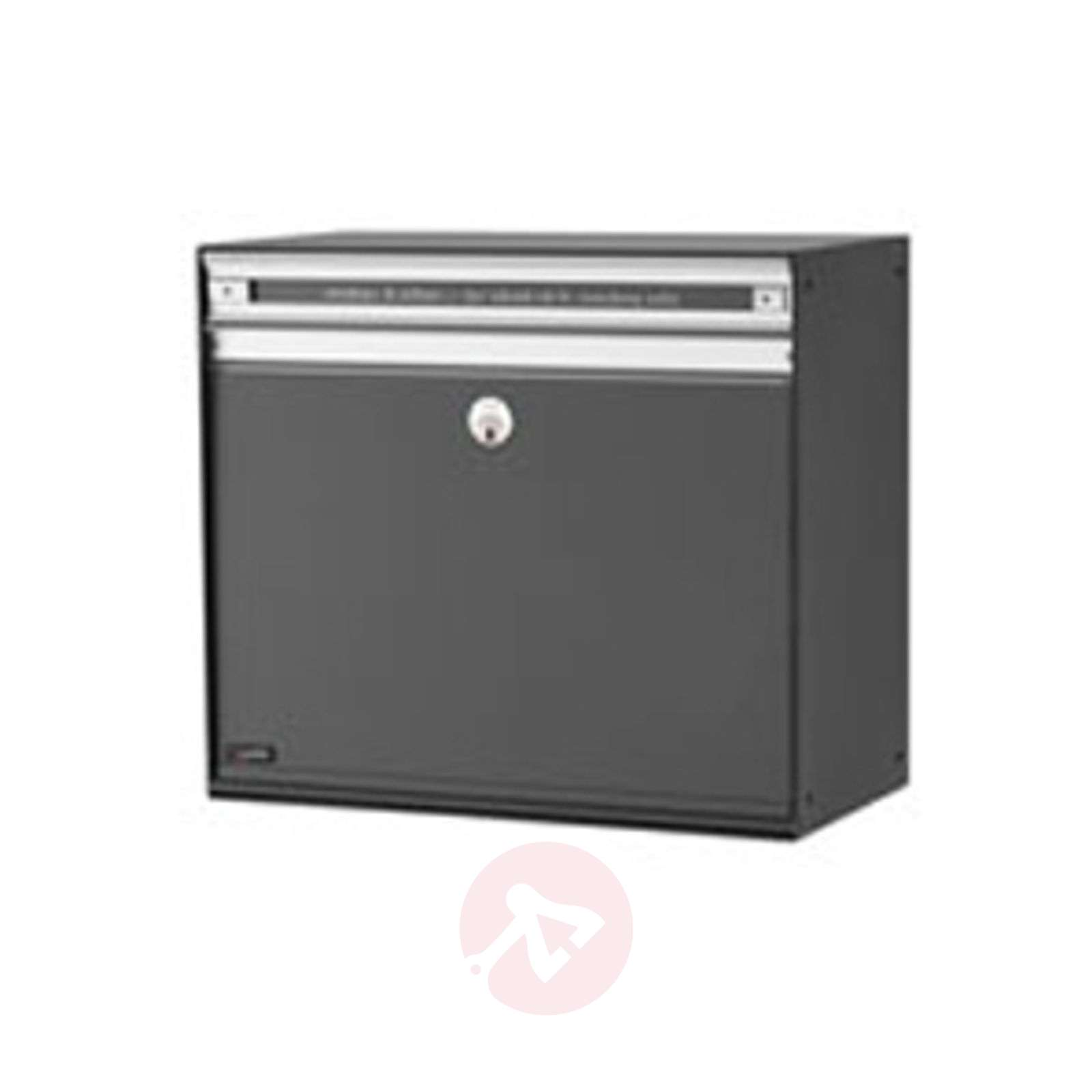 Spacious letterbox SC200 with aluminium slot-1045054X-01