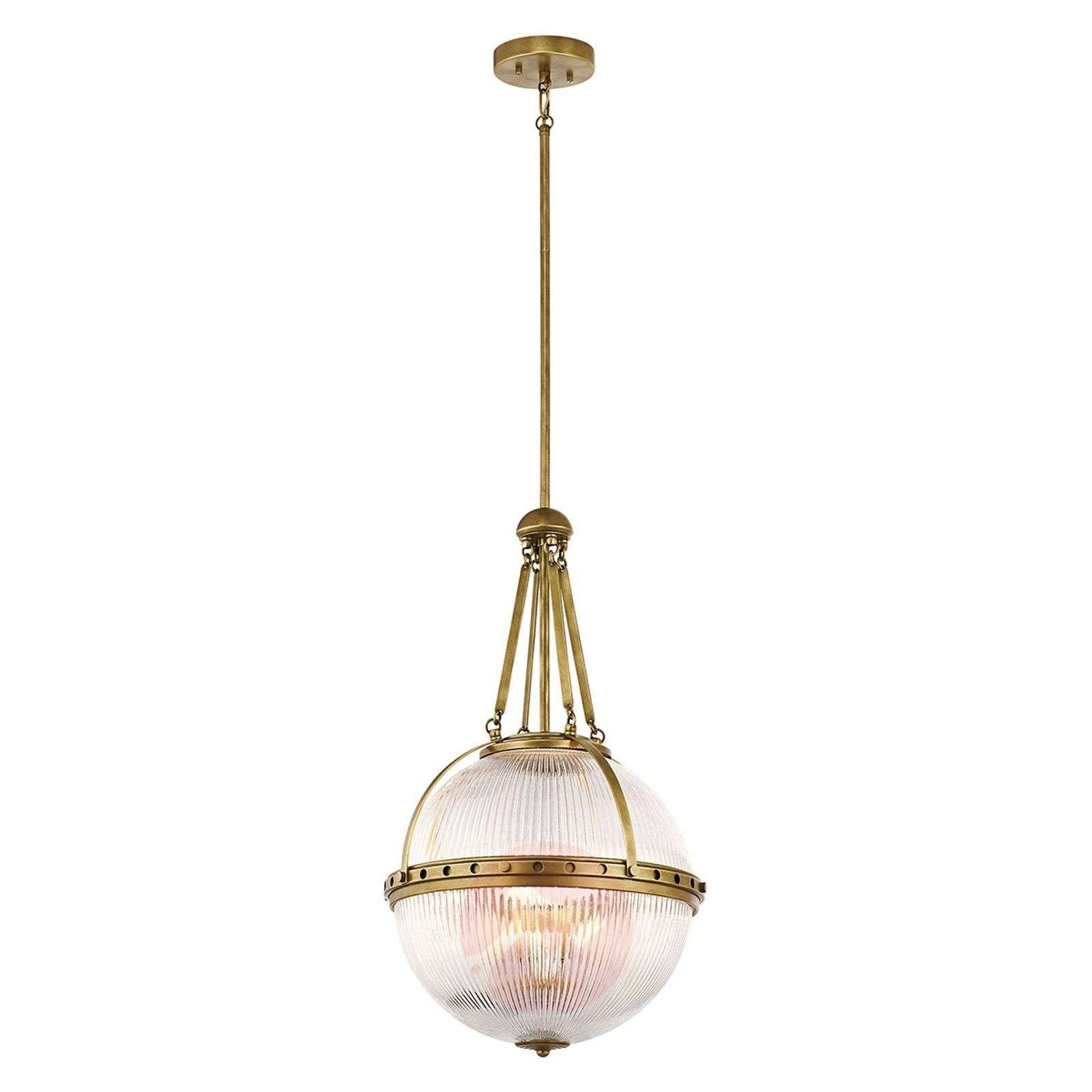 Spherical hanging light Aster, brass-3048912-01