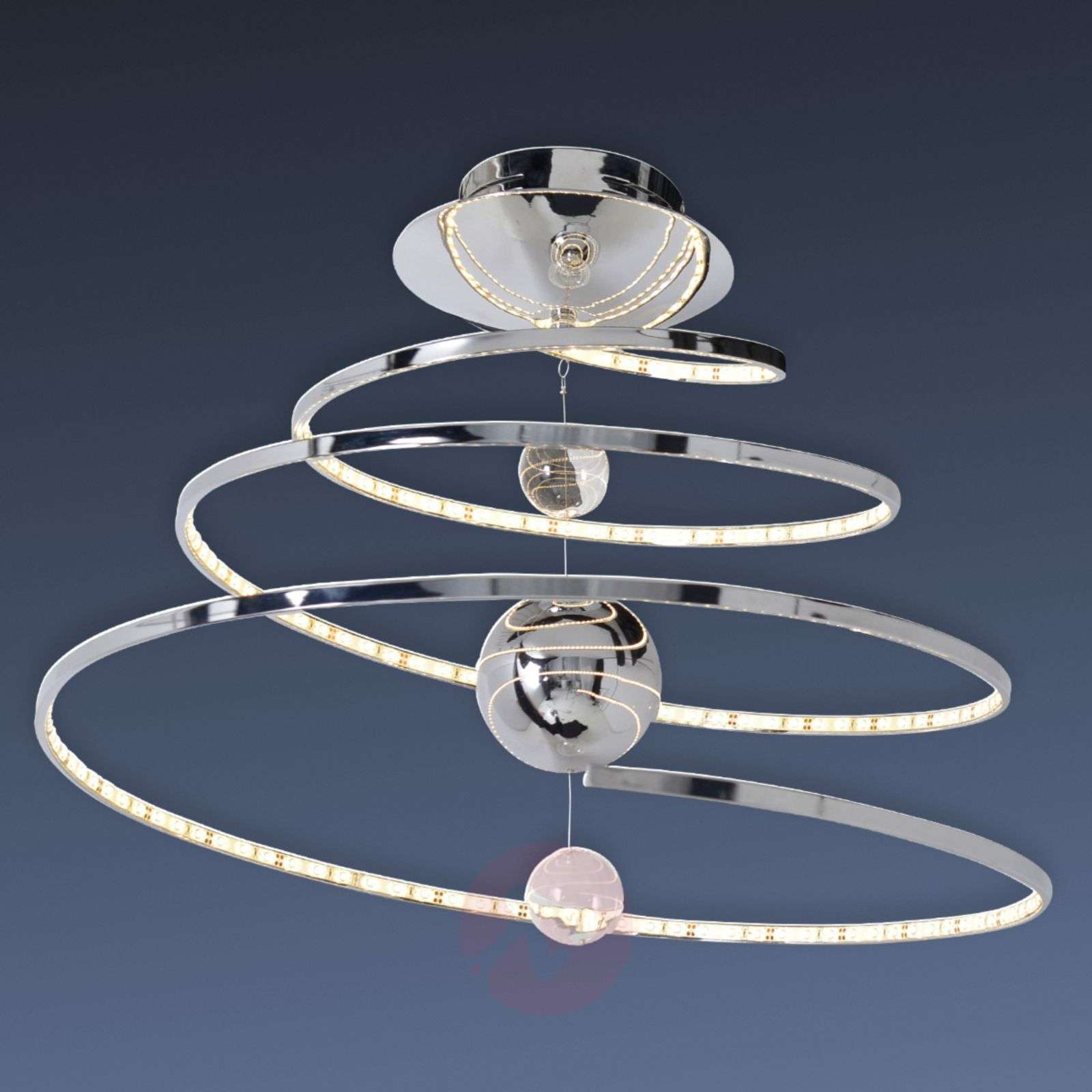 Spiral shaped led ceiling light universe lights spiral shaped led ceiling light universe 7000764 01 aloadofball Gallery