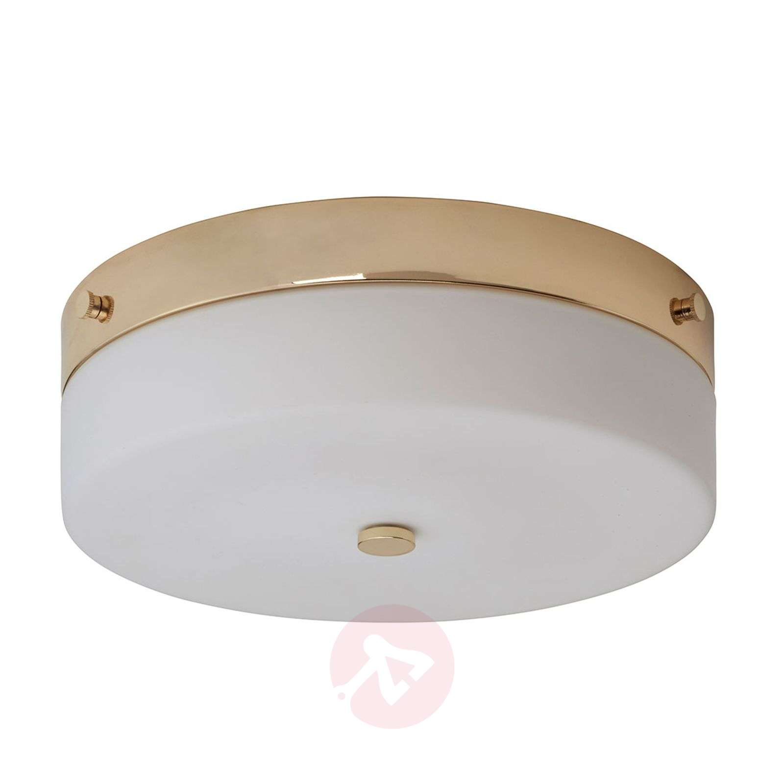 Spray water-protected LED ceiling lamp Tamar, gold-3048877-01