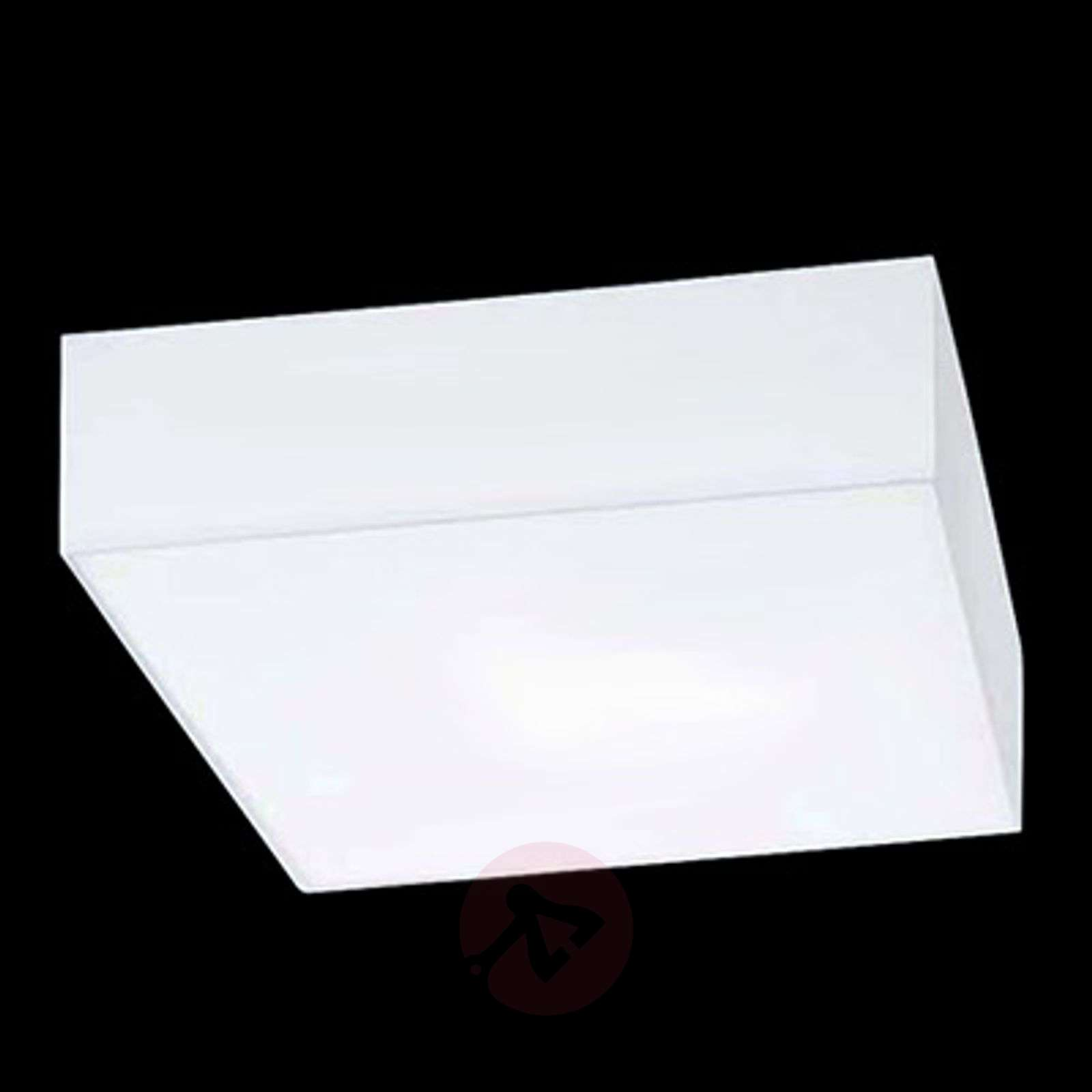 Square ceiling light cube hela in white lights square ceiling light cube hela in white 4536191 01 aloadofball Choice Image