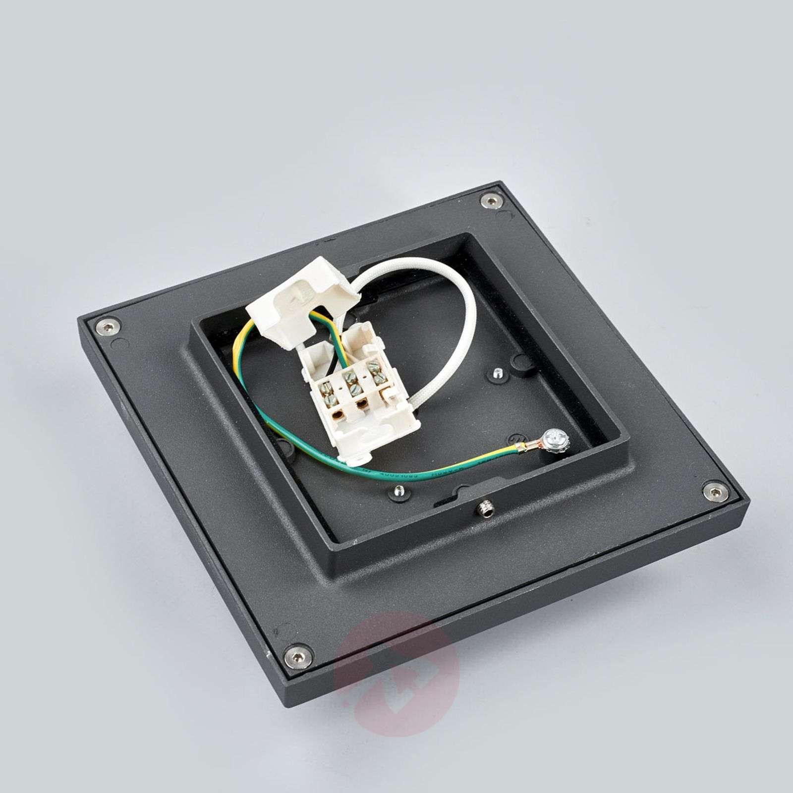 Square LED outdoor wall lamp Joschi-9969043-02