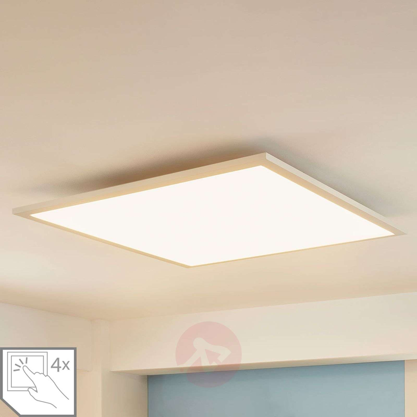 Square LED panel Enja, 62 x 62 cm-9621532-02