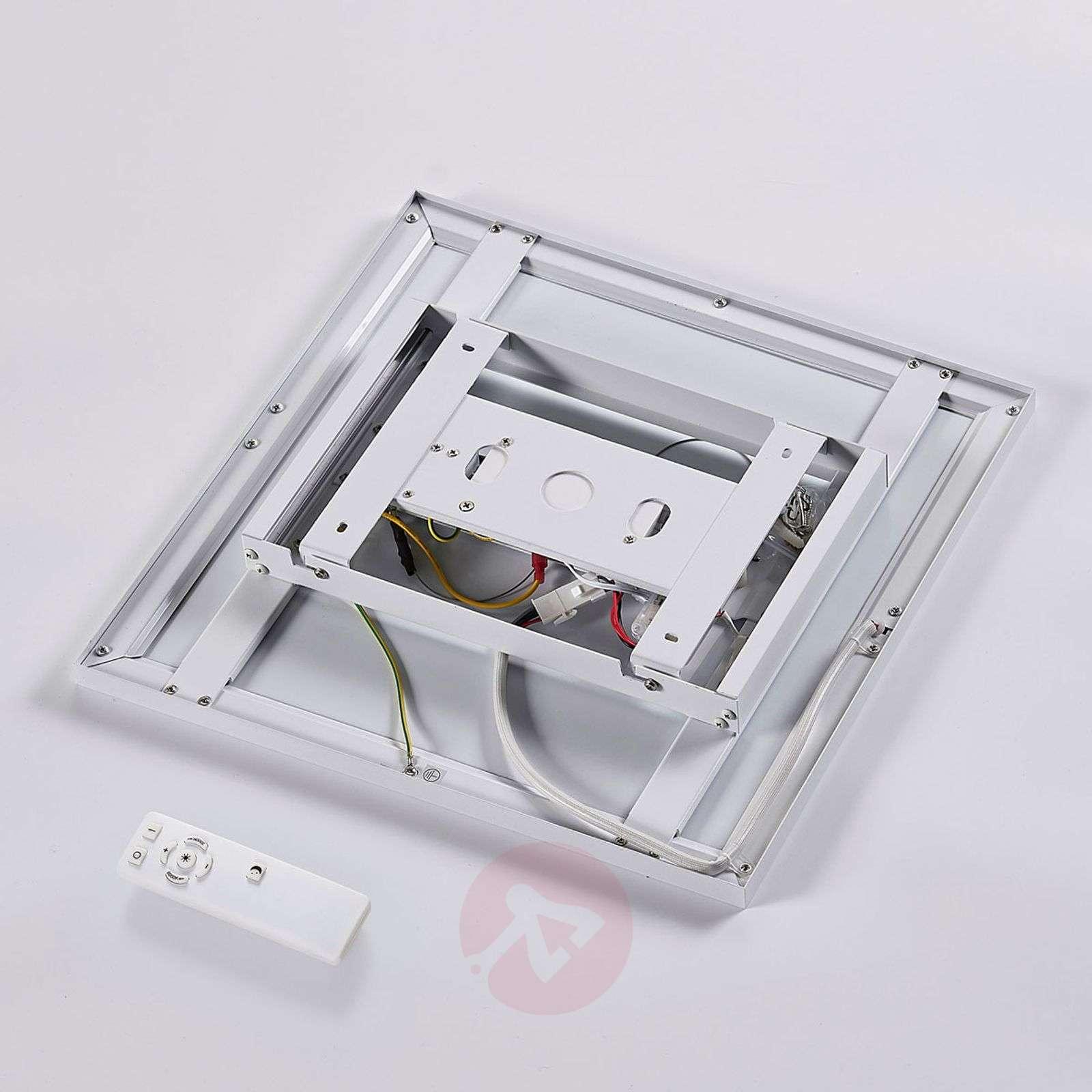 Square LED panel Philia, 40 cm 3,000K-6,000K-9621212-011