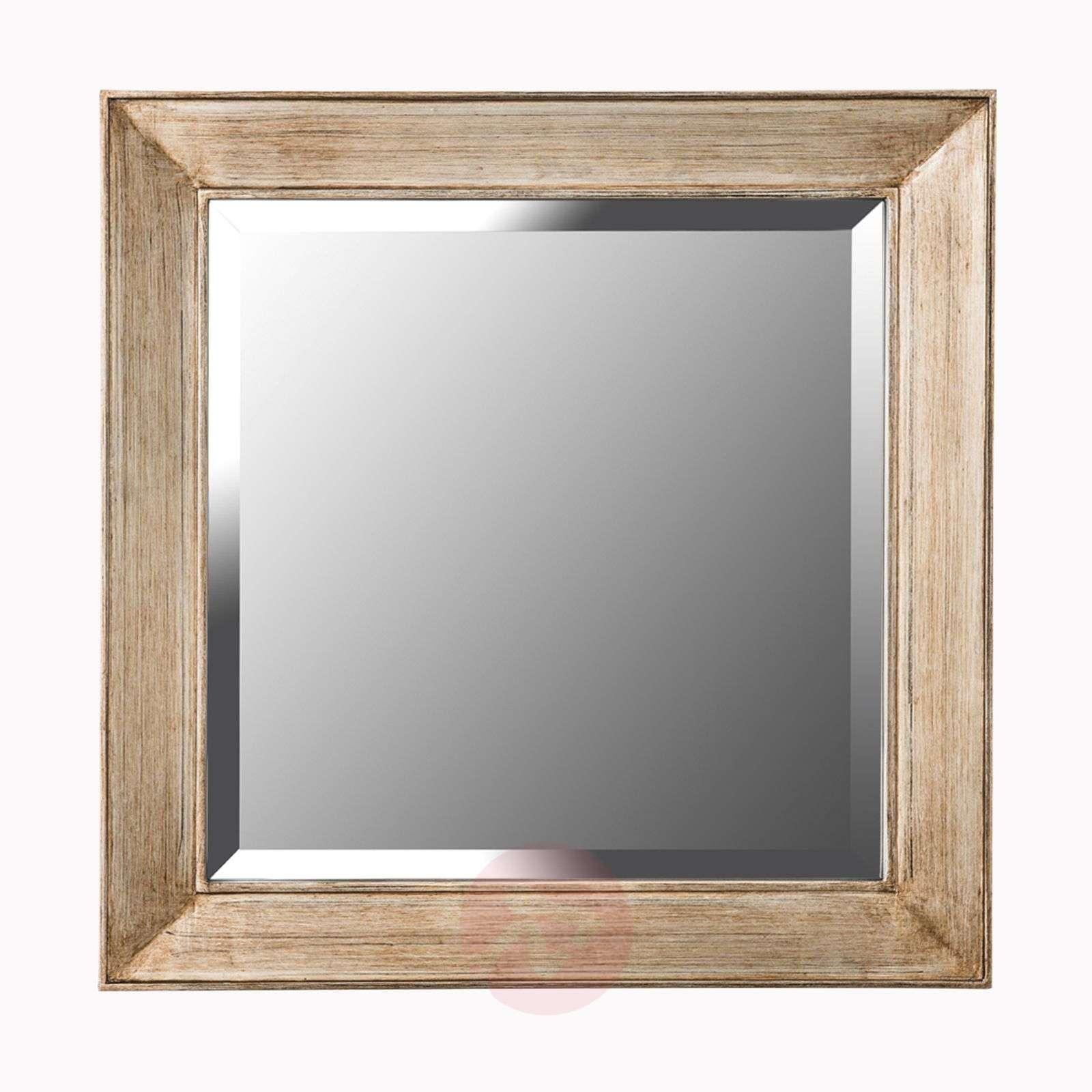 Square mirror Sverre, antique gold-7255072-01