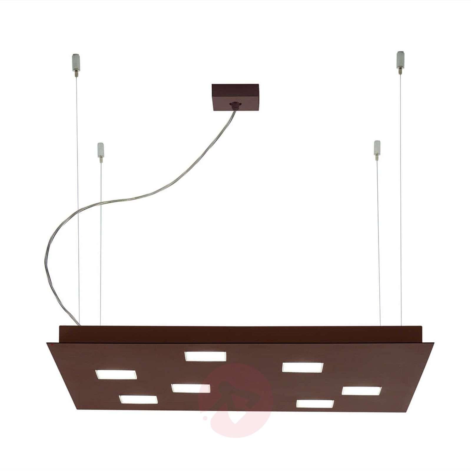 Square Quarter LED pendant light-3503333X-01