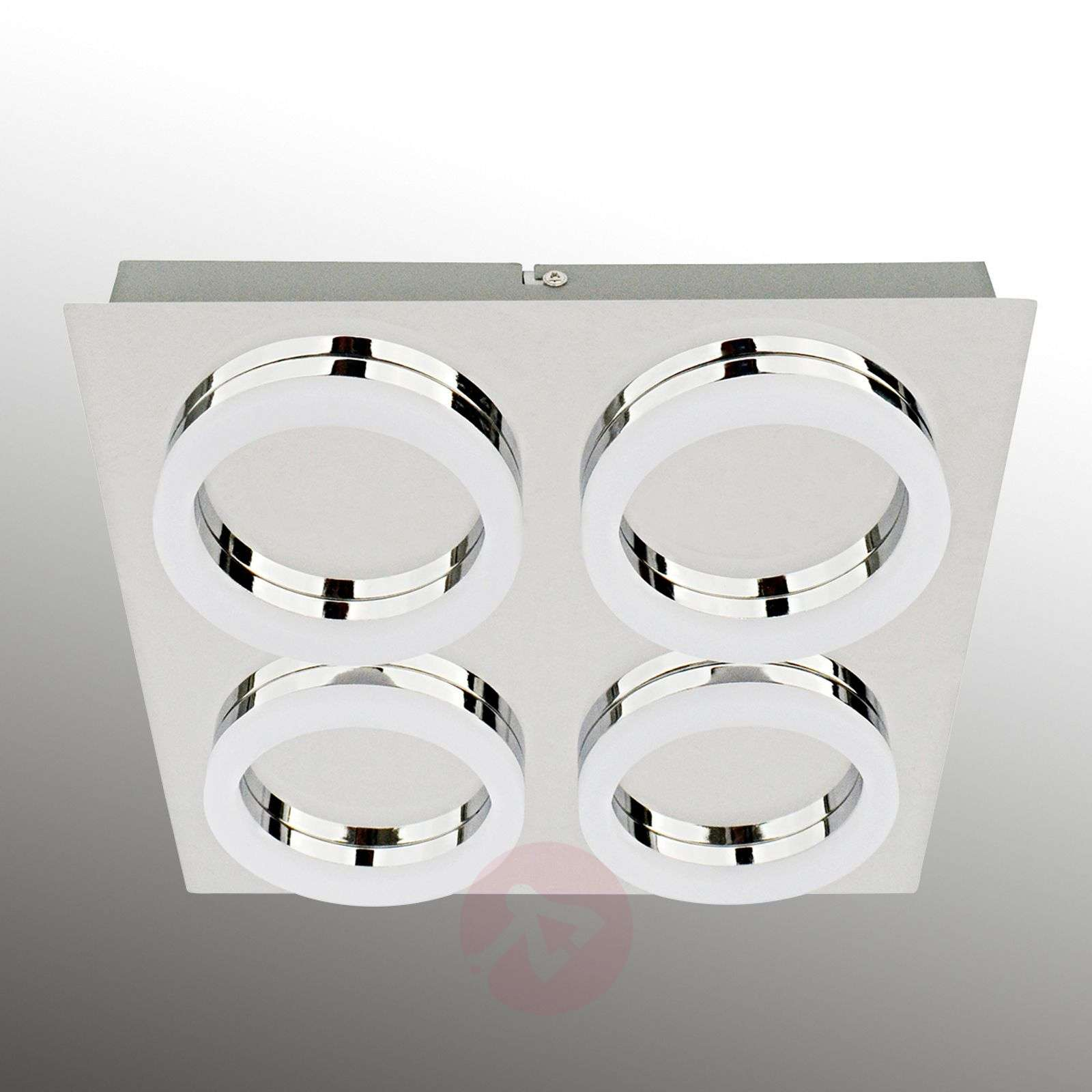 Square-shaped LED ceiling lamp Ring-6022345-01