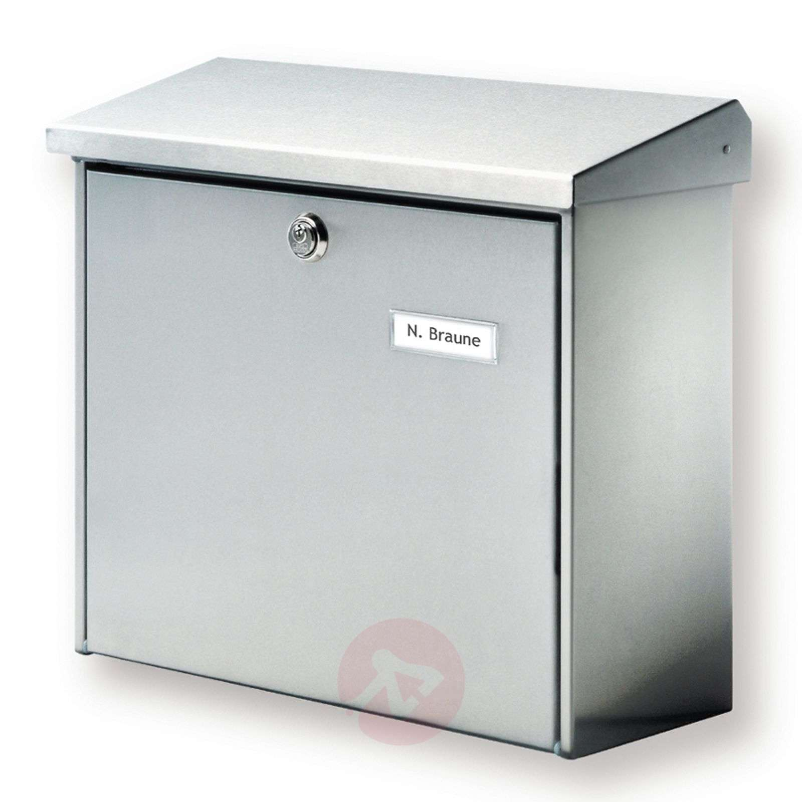 Stainless steel letterbox Comfort-1532028-01