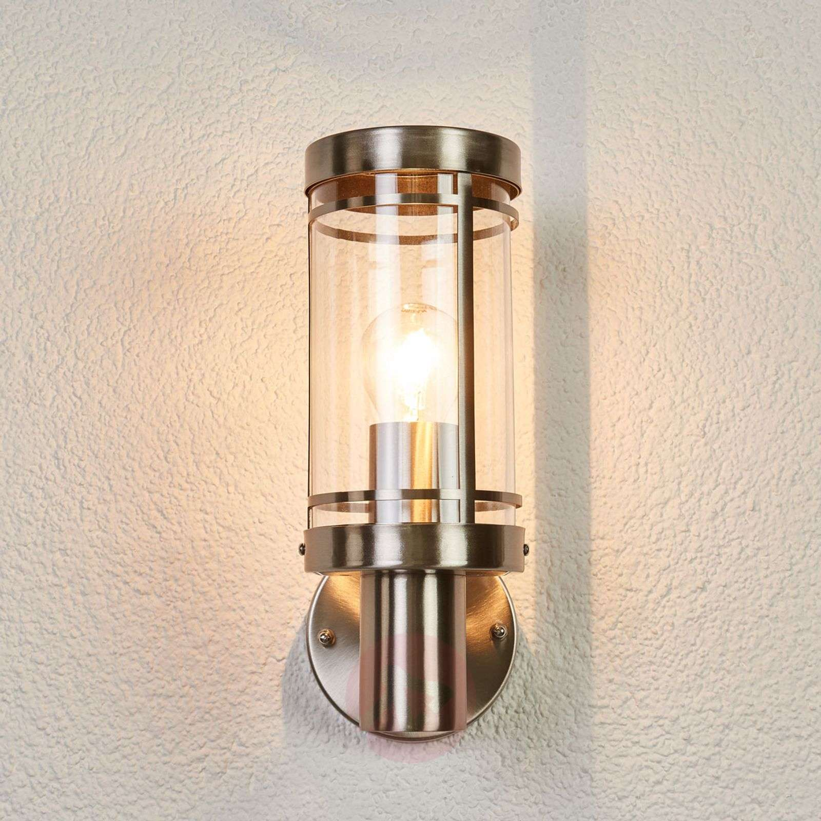 Stainless steel outdoor wall light Djori-9977032-02