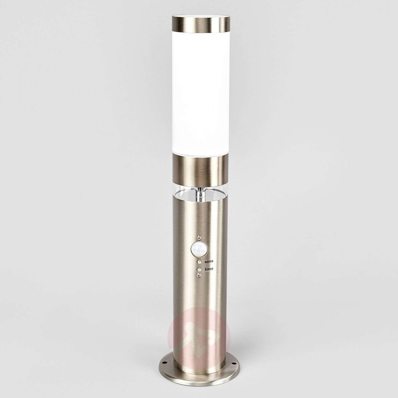 Stainless steel pillar light Binka with sensor-9647025-02
