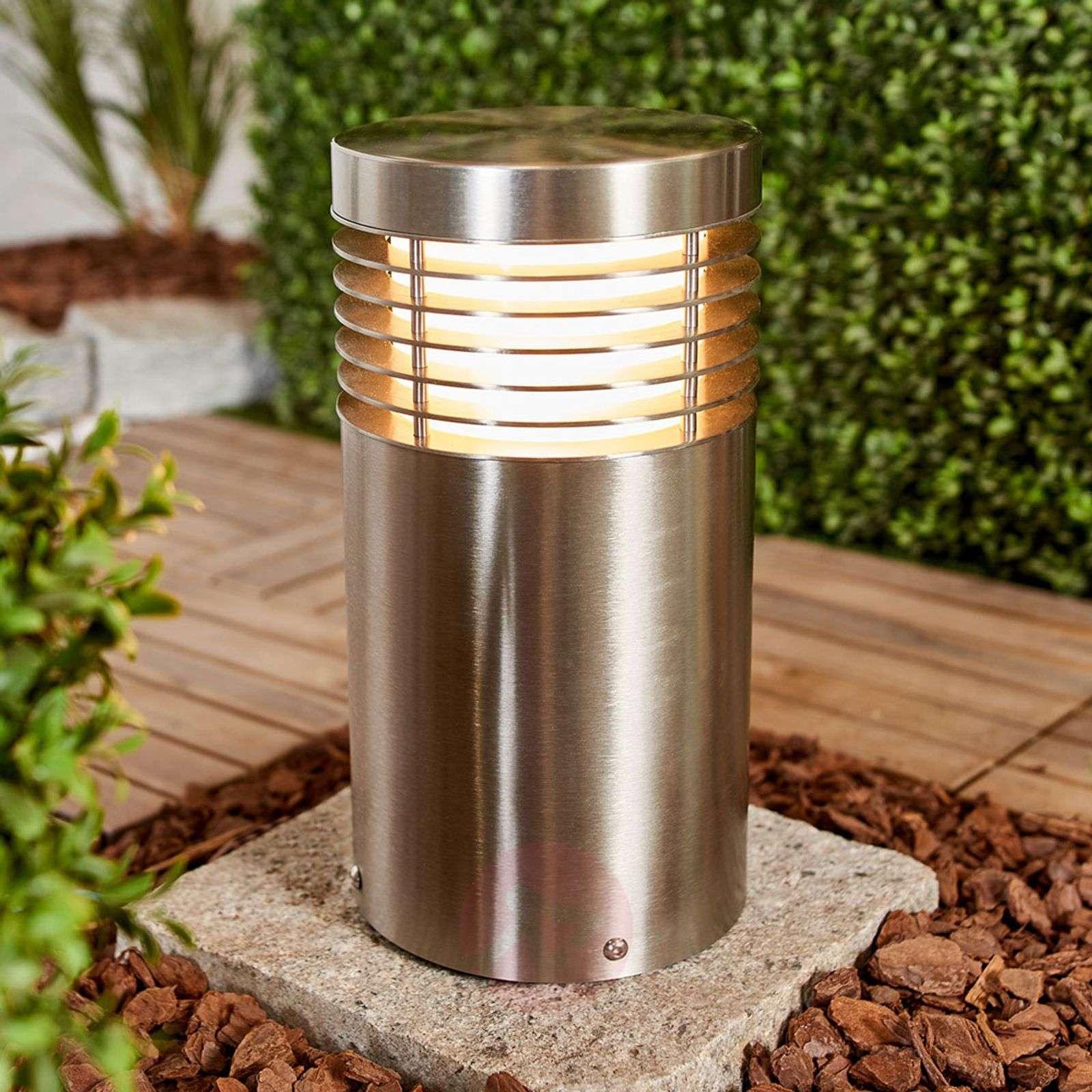 Stainless steel pillar light Tomita, seawater res.-9943016-02