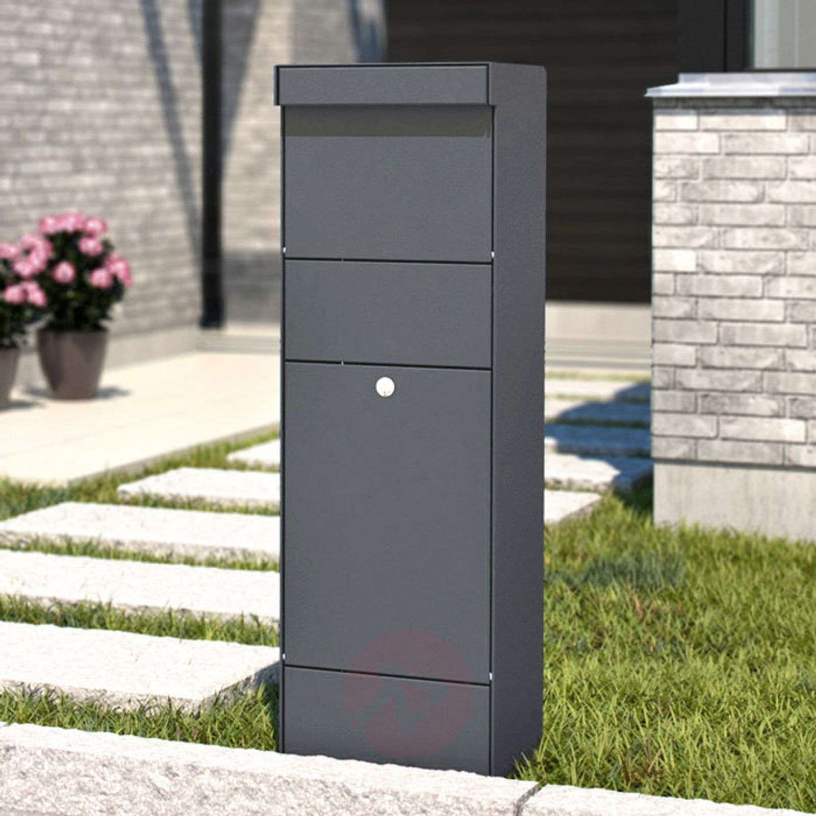 Stand letterbox Parcel anthracite-1045224-01
