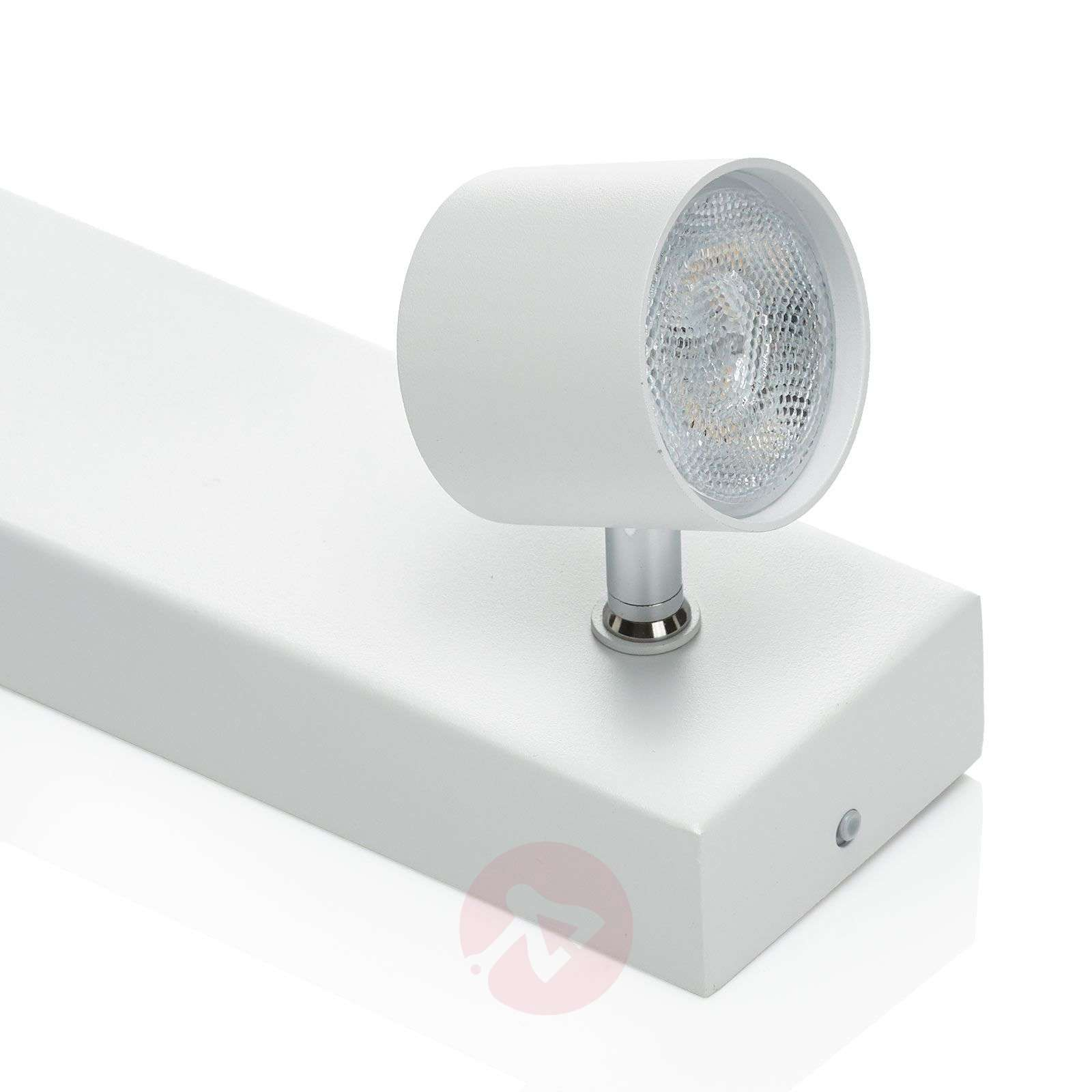 Star four-bulb LED ceiling spot, white, WarmGlow-7531965-02