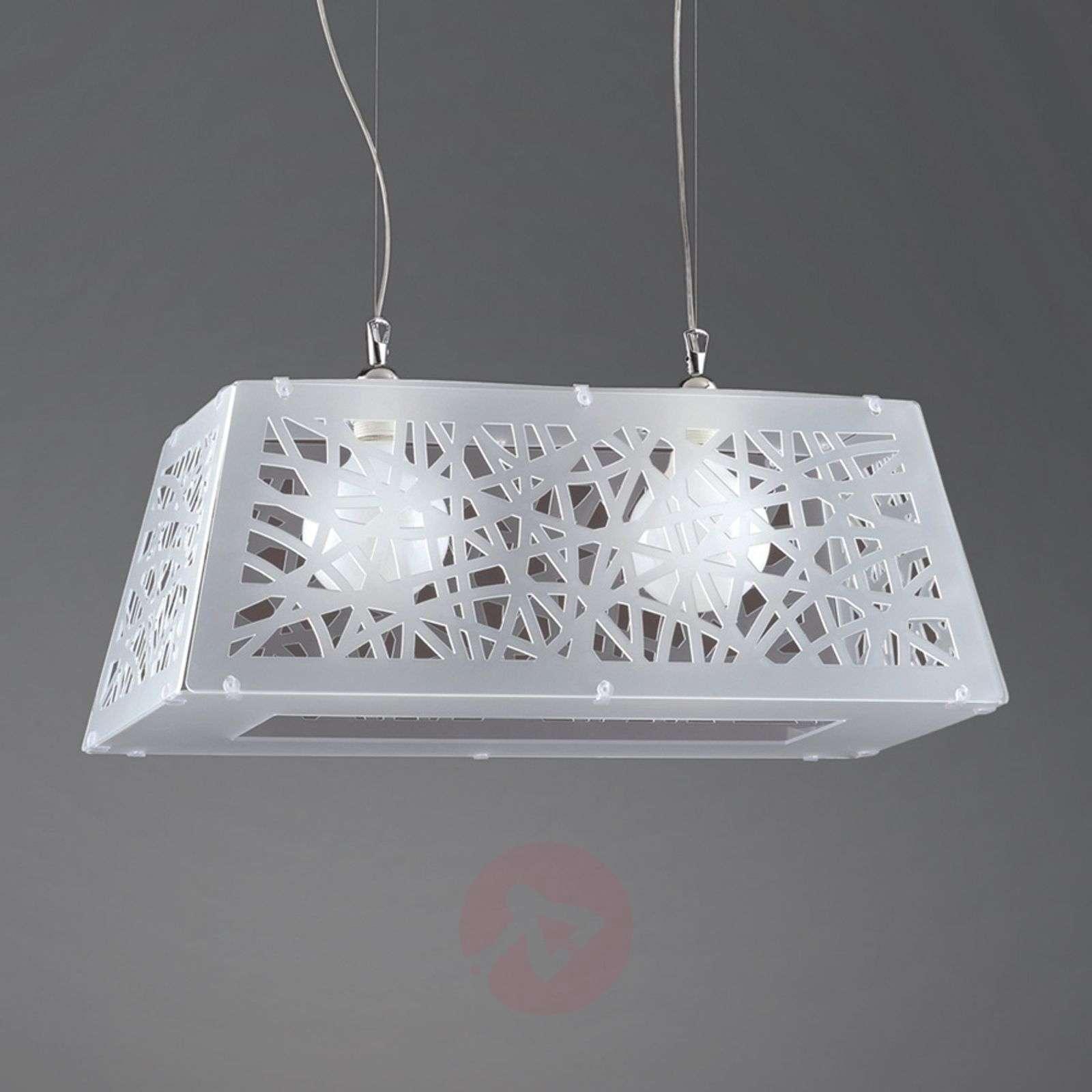 Star modern hanging light for various rooms, white-1056031-01