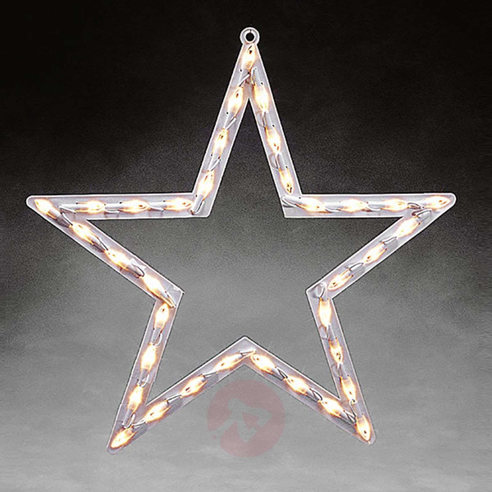 Star window silhouette LED for indoors warm white-5524841-01