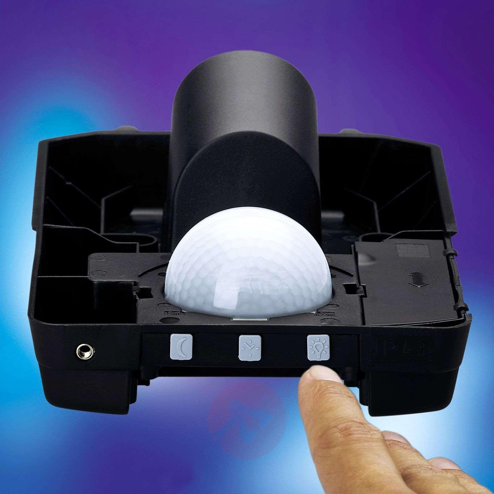 Steinel L 170 outdoor wall light, sensor, steel-8505042-020