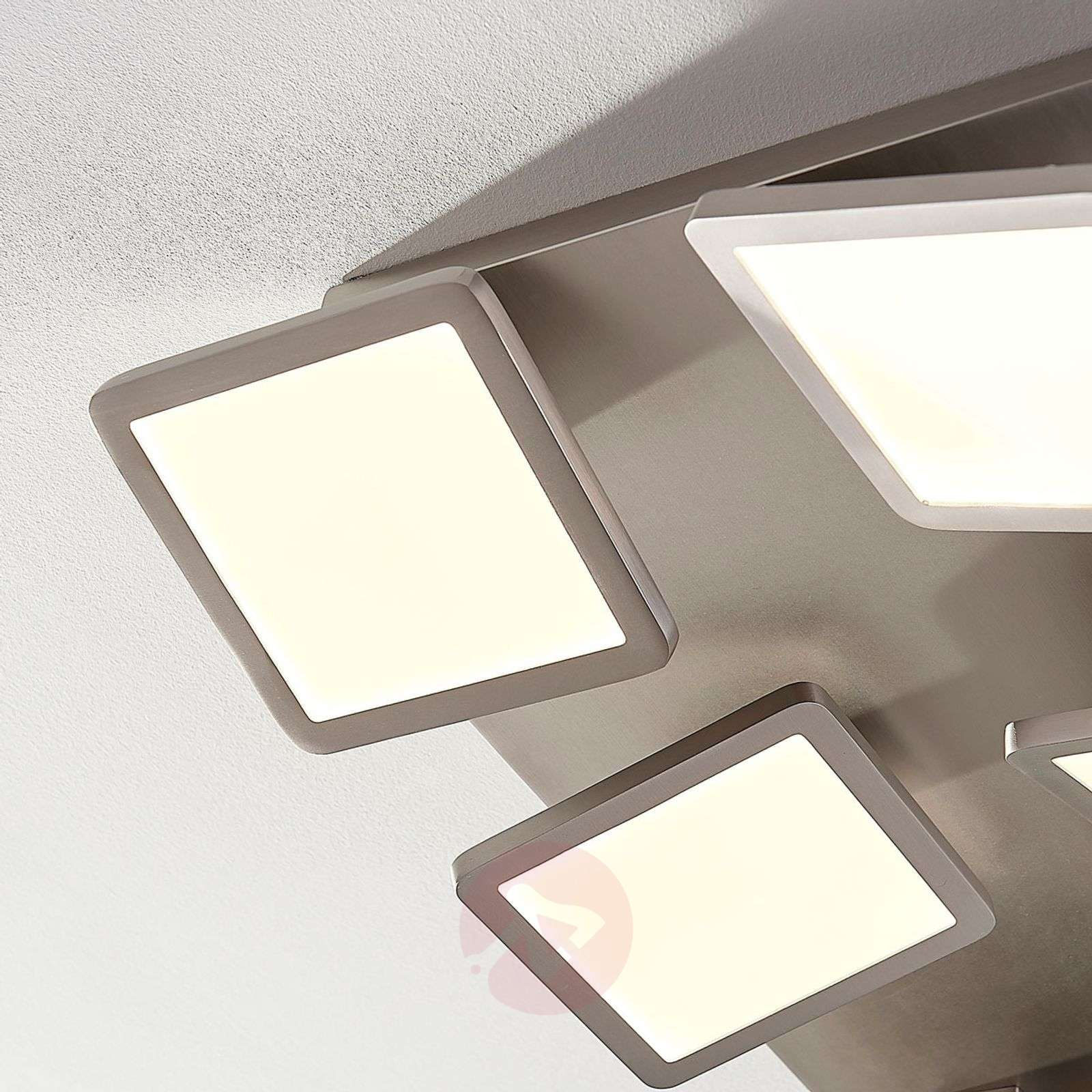 Stephanie LED ceiling lamp, dimmable, nine-bulb-9621423-02