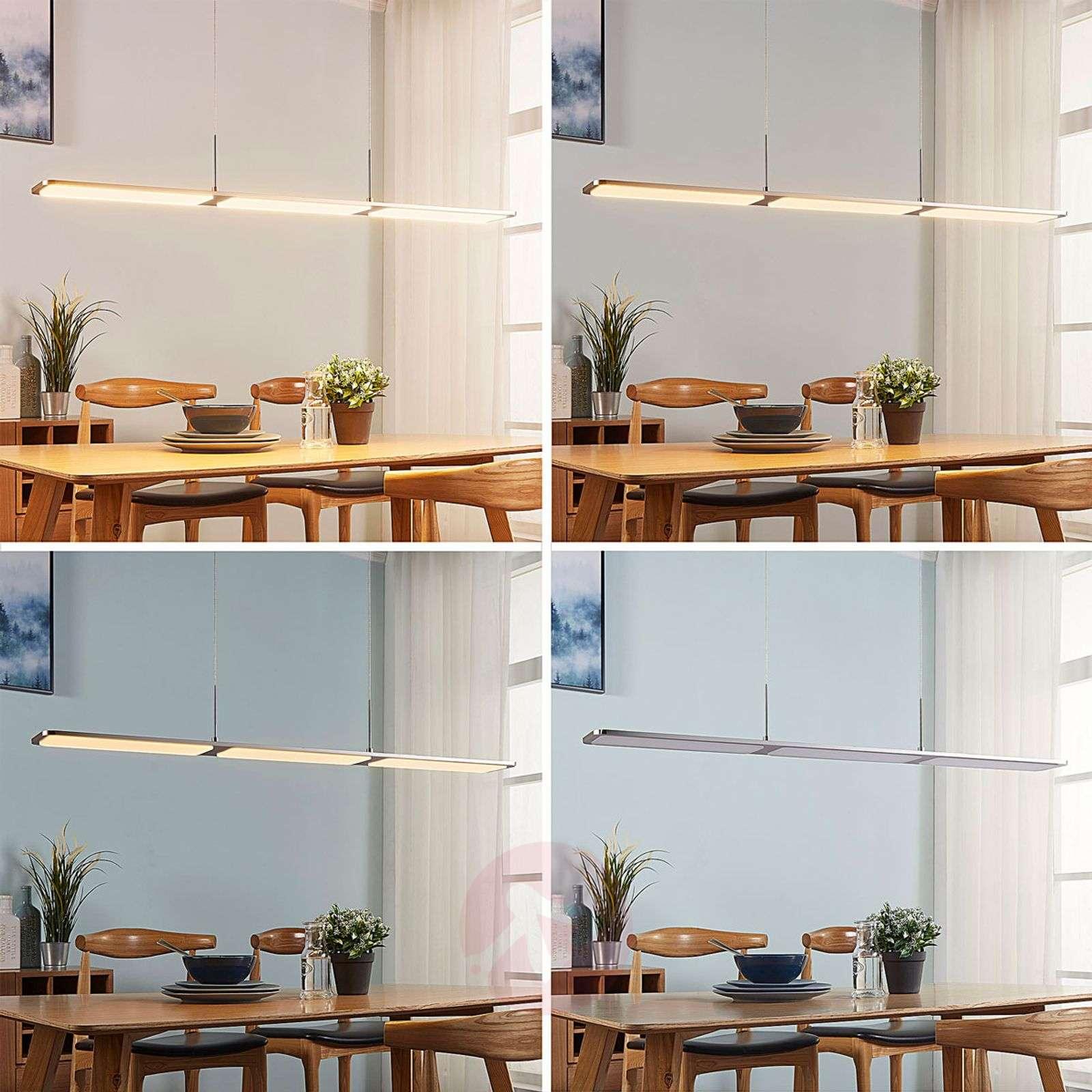 Stephanie linear LED pendant lamp, dimmable-9621419-01