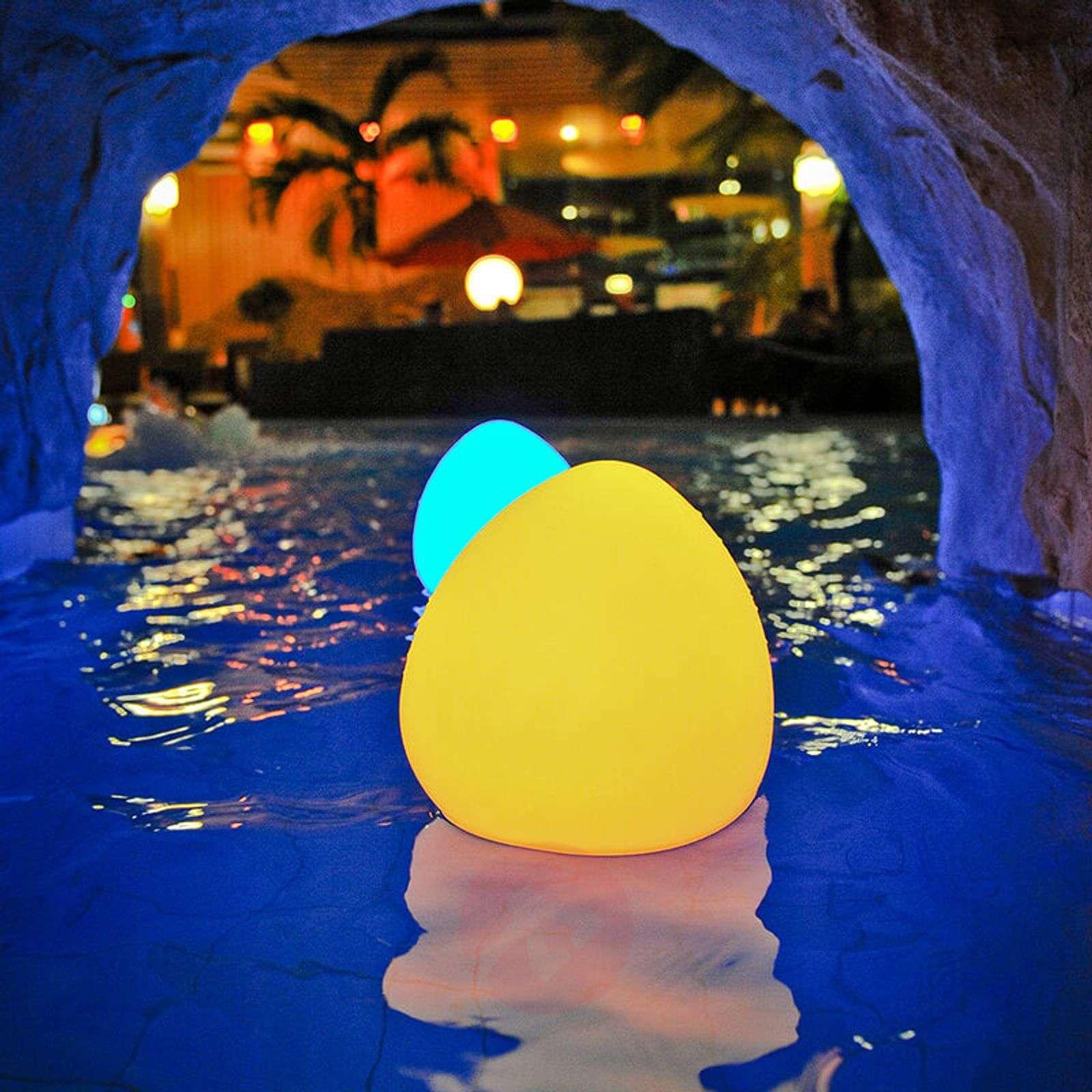 Stone L LED decorative light, controllable via app-8590010-01