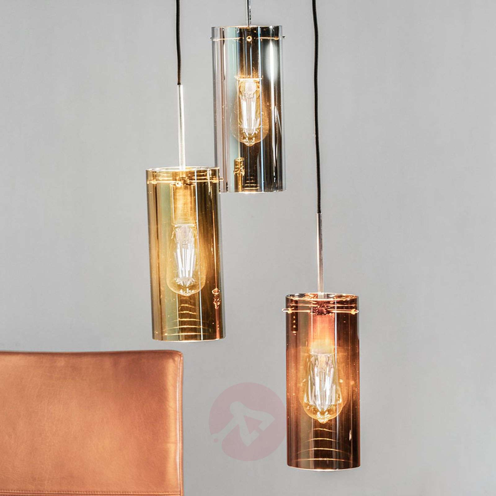 Storm 3-bulb pendant lamp in mix of colours-6505576-02