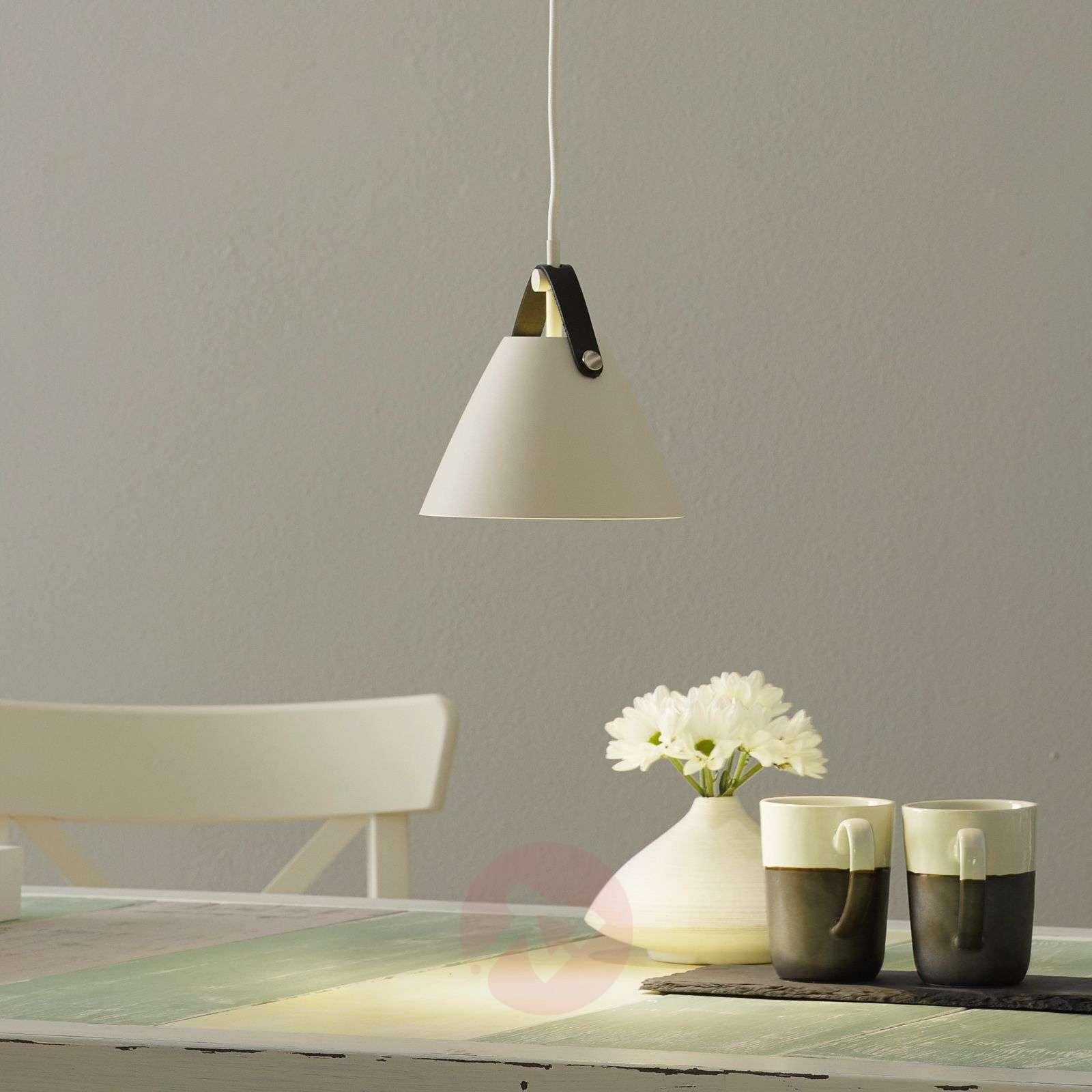 Strap hanging light, 16.5cm diameter, white-7006072-01