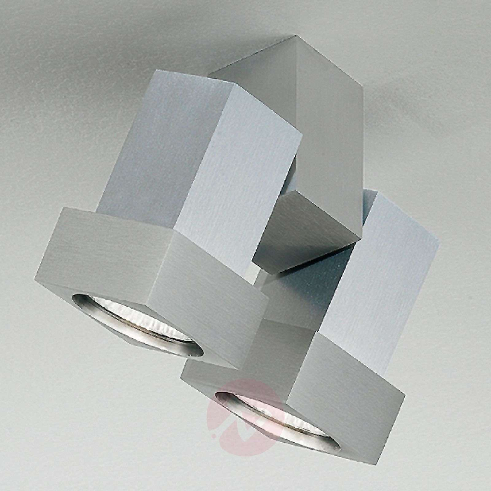 Sierstrip Chroom Badkamer : Style q ceiling or wall spotlight two bulb lights.ie