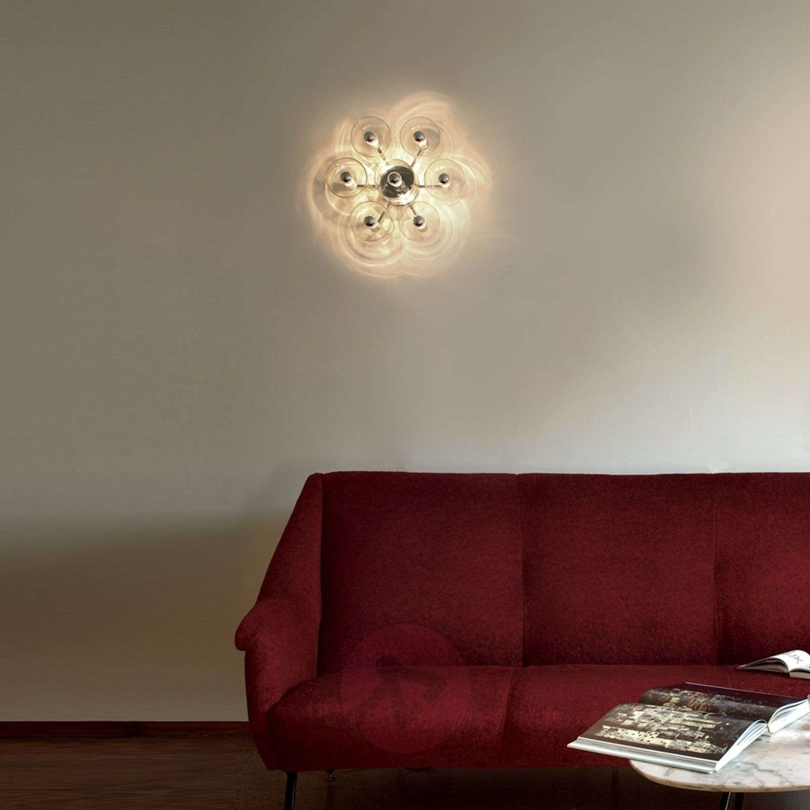 Stylised wall light Fiore-7265003-01