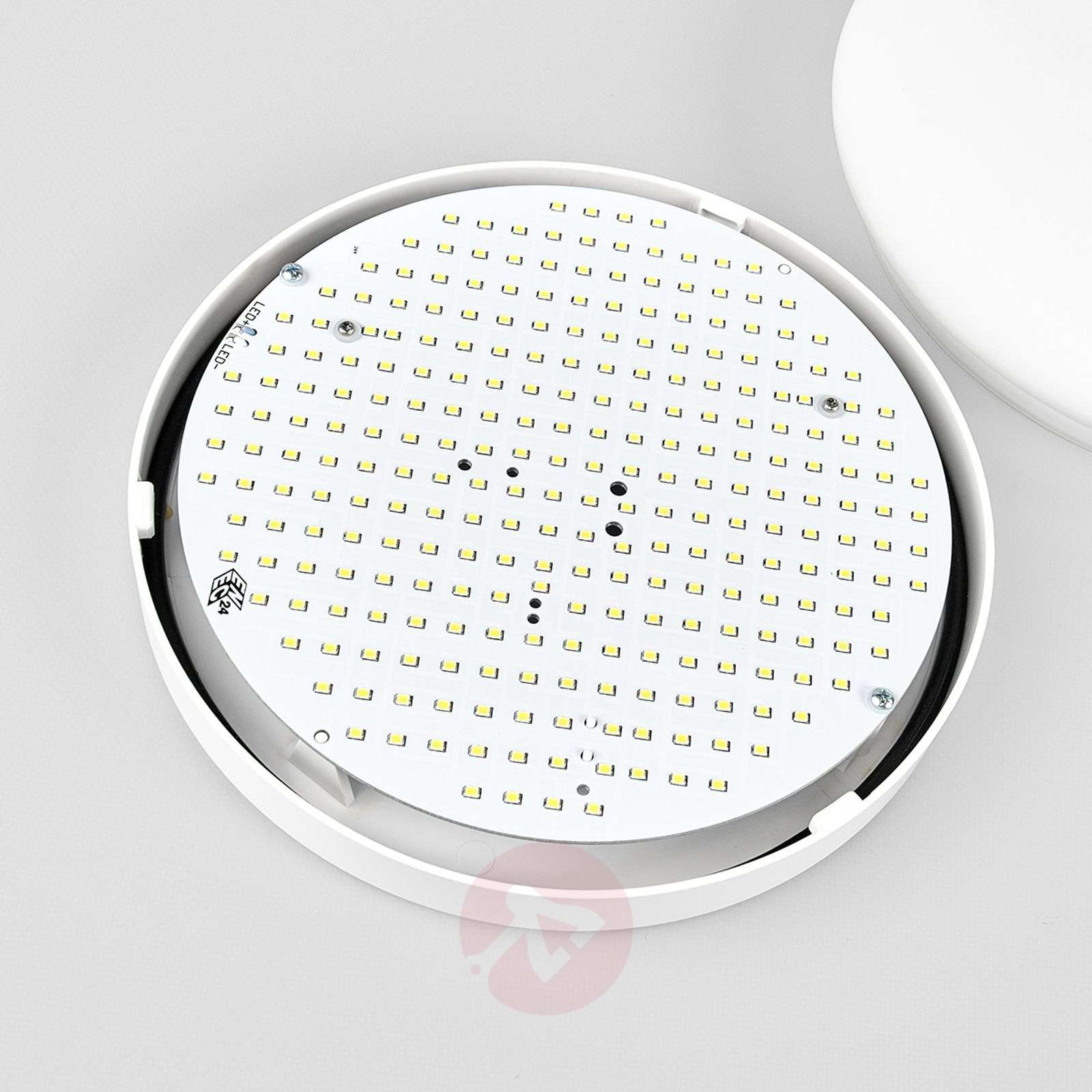 Sun 12 white LED wall light, IP code IP55-1018296X-01