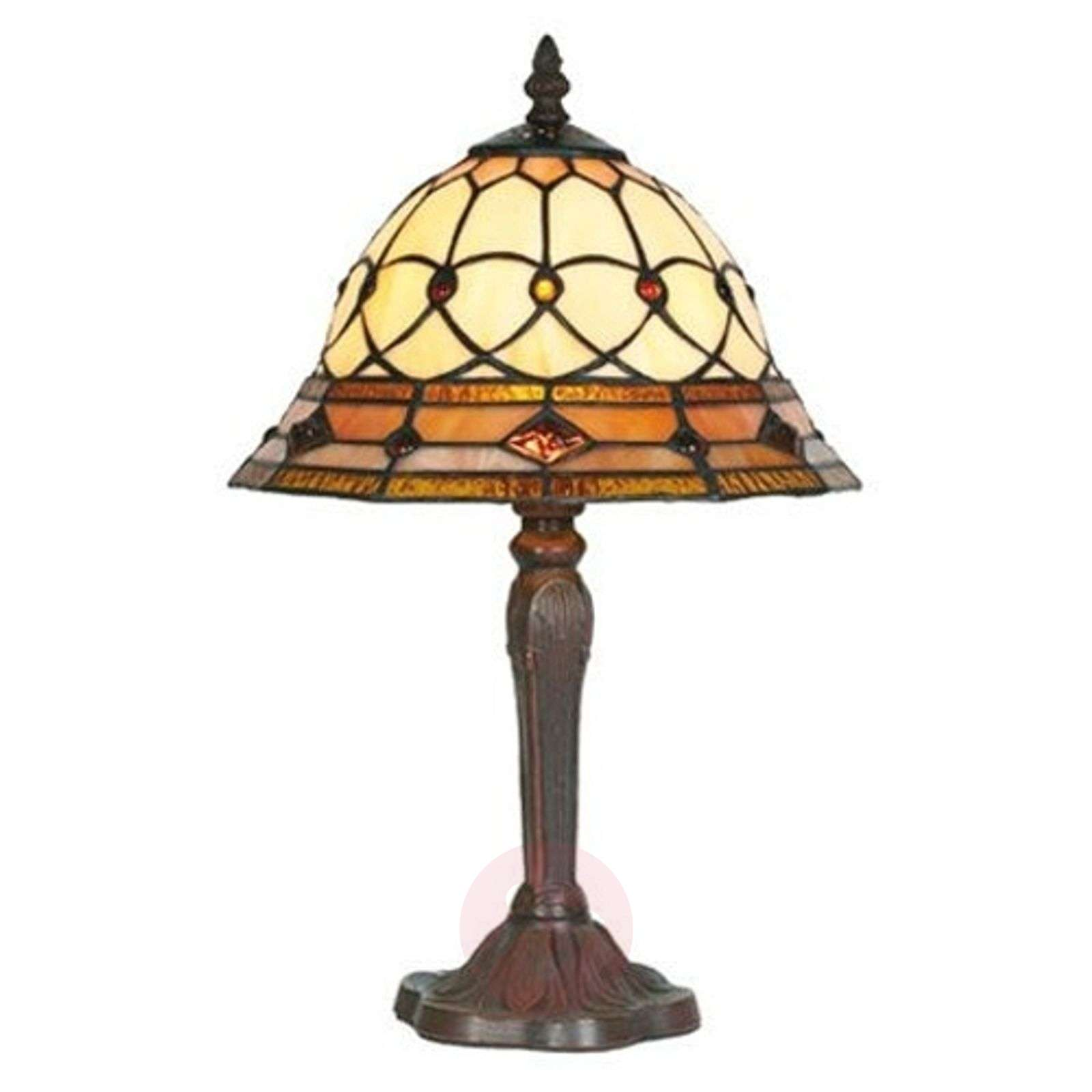 Table lamp ANTHEA in Tiffany style-1032111-01
