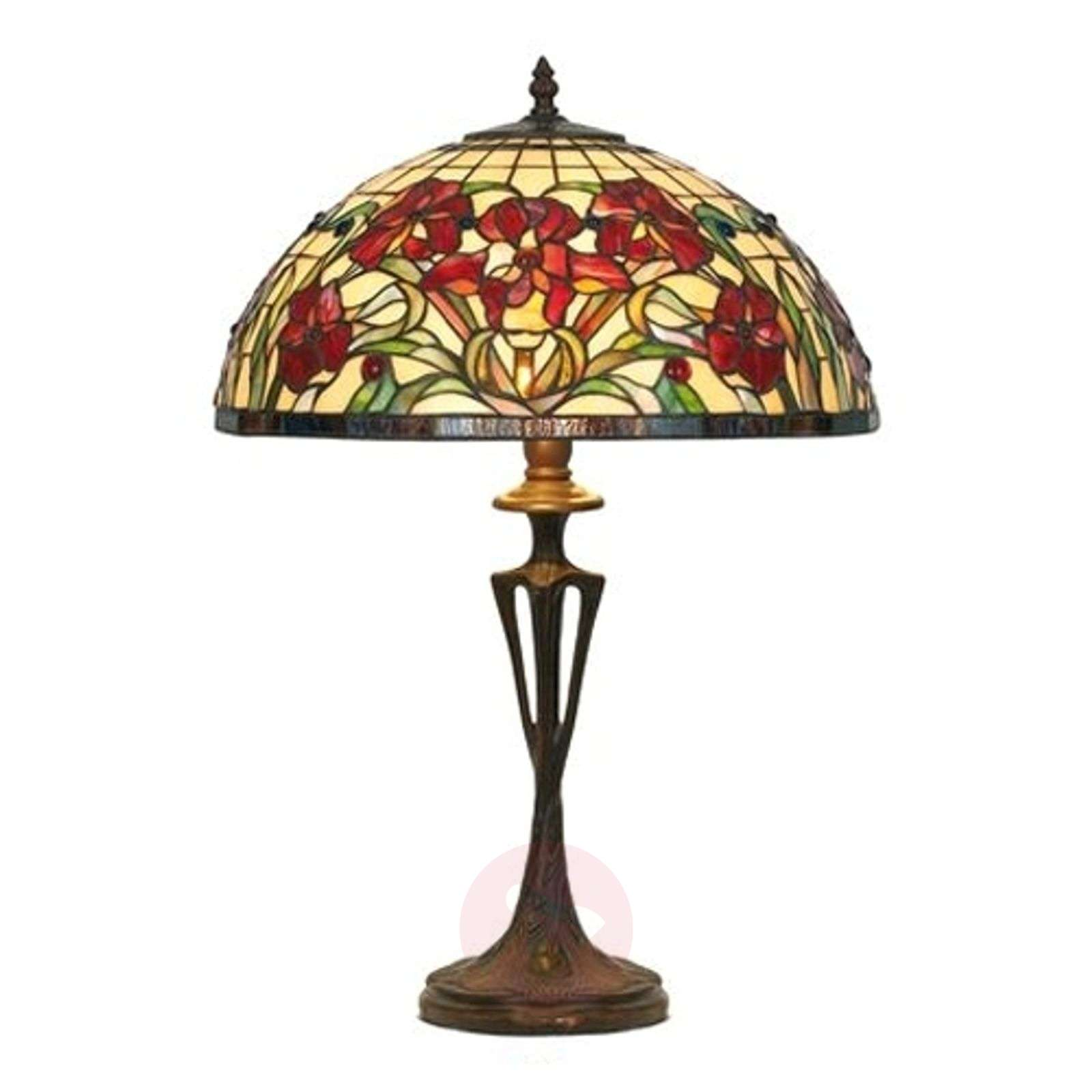 Table lamp Eline in Tiffany style-1032171-01