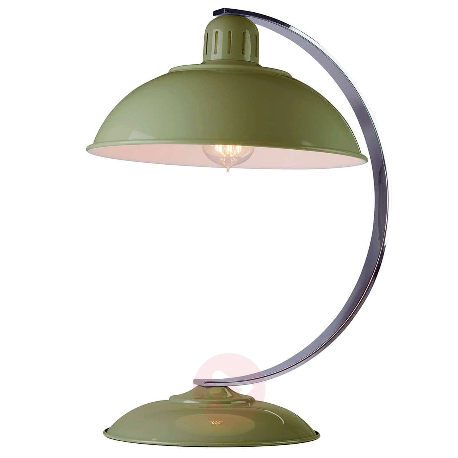Table lamp Franklin green painted-3048779-01