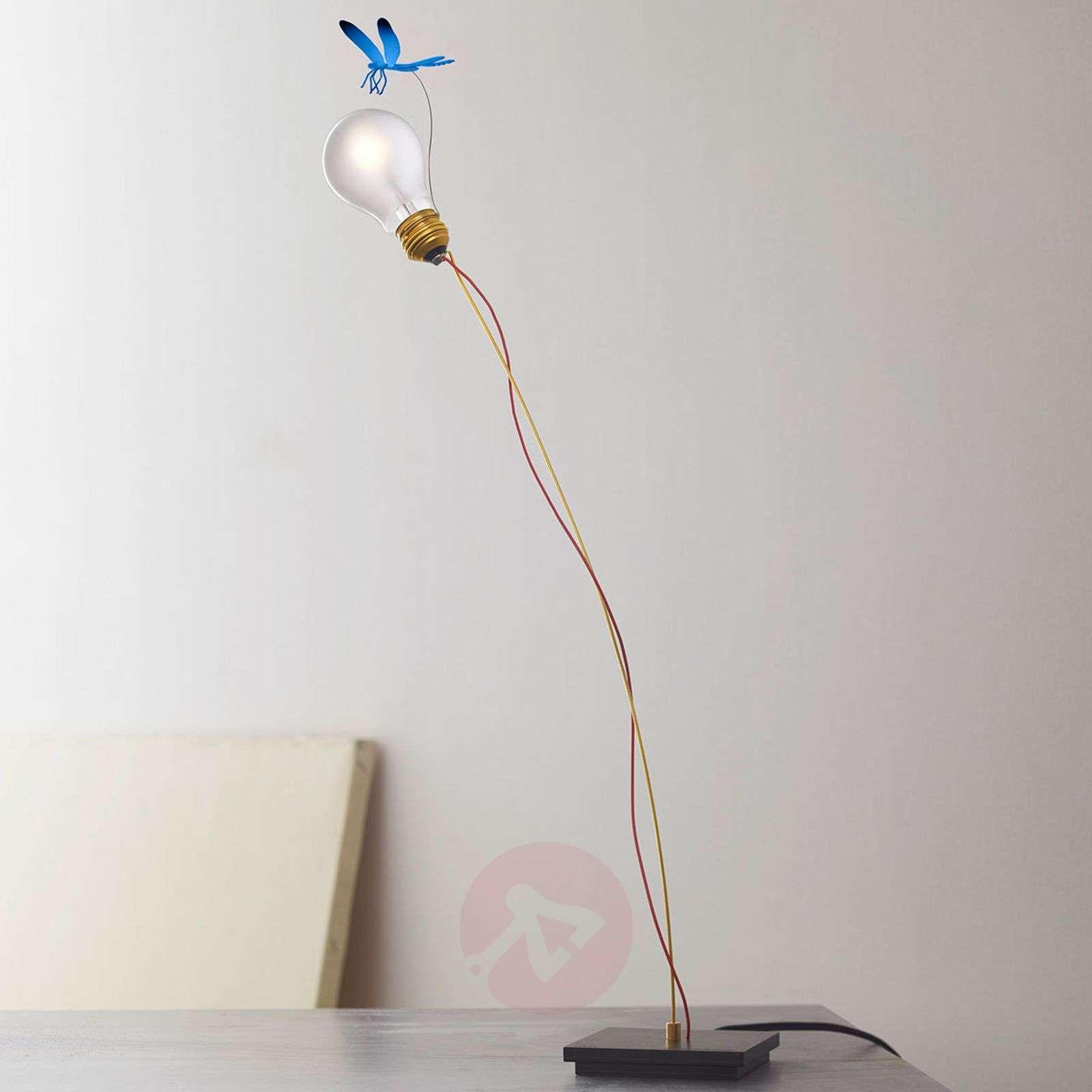 Table lamp I Ricchi Poveri Bzzzz with dragonfly-5026092X-01