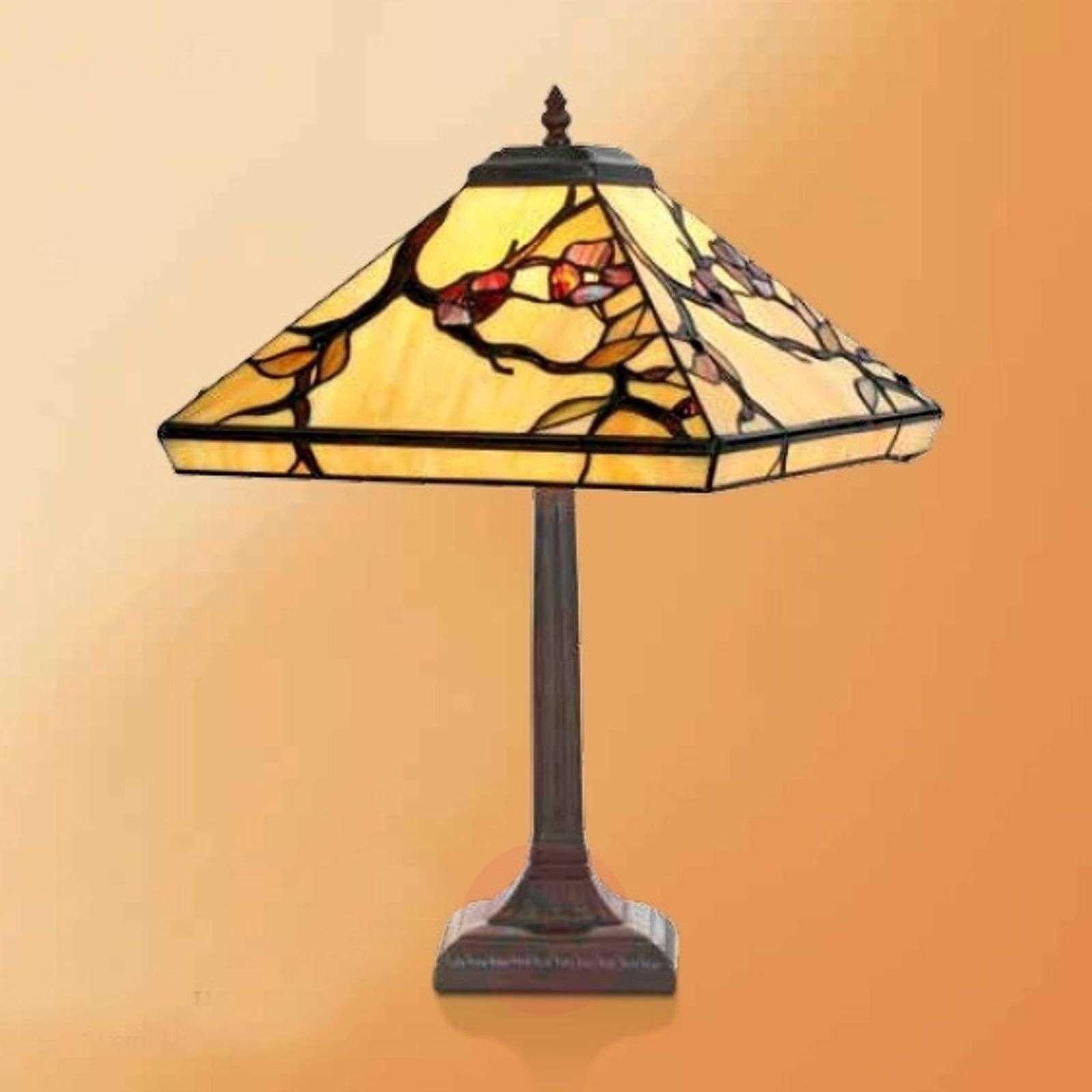 Table lamp Juliett in Tiffany style, 52 cm-1032288-01