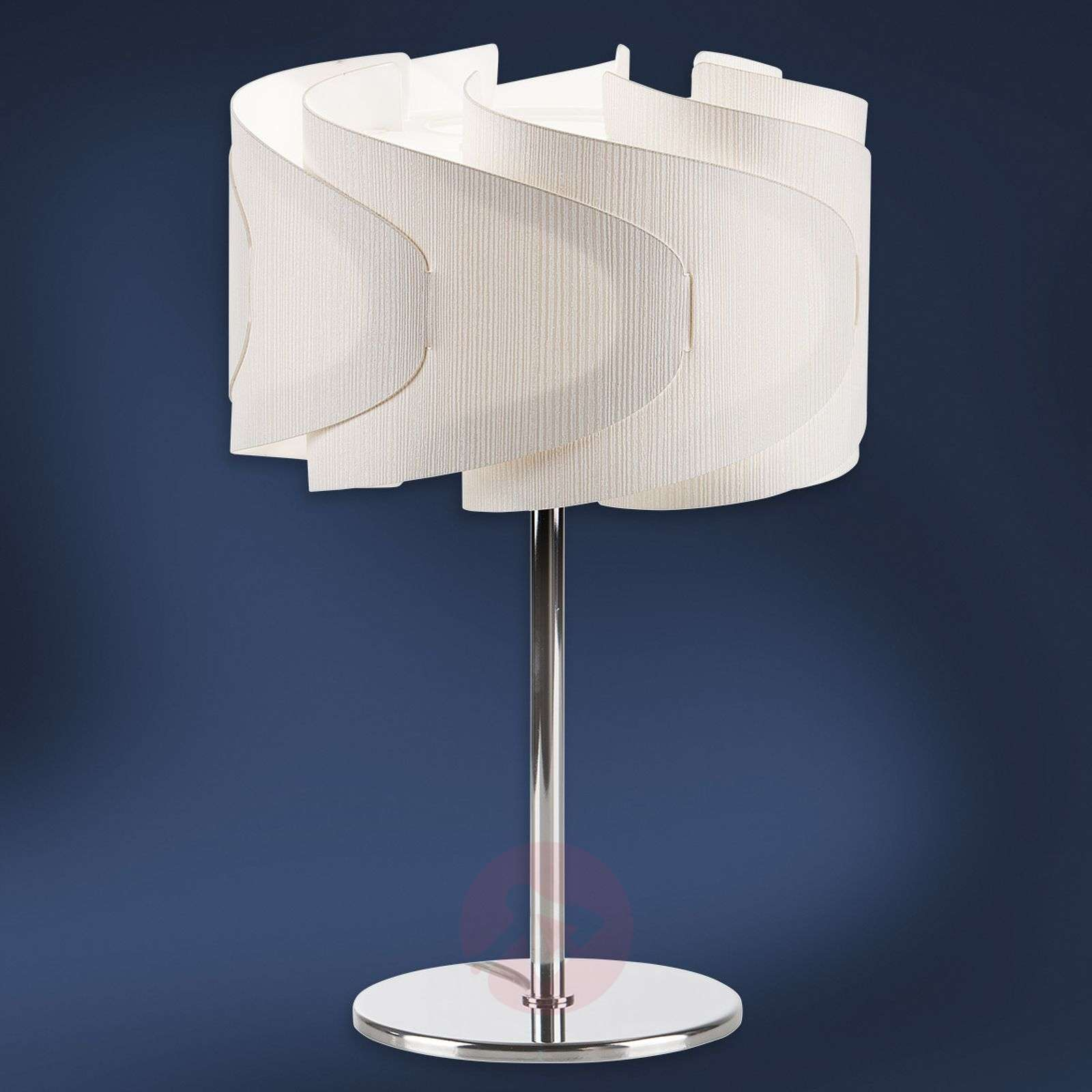 Table lamp Lumetto Ellix in wood finish-1056078-01