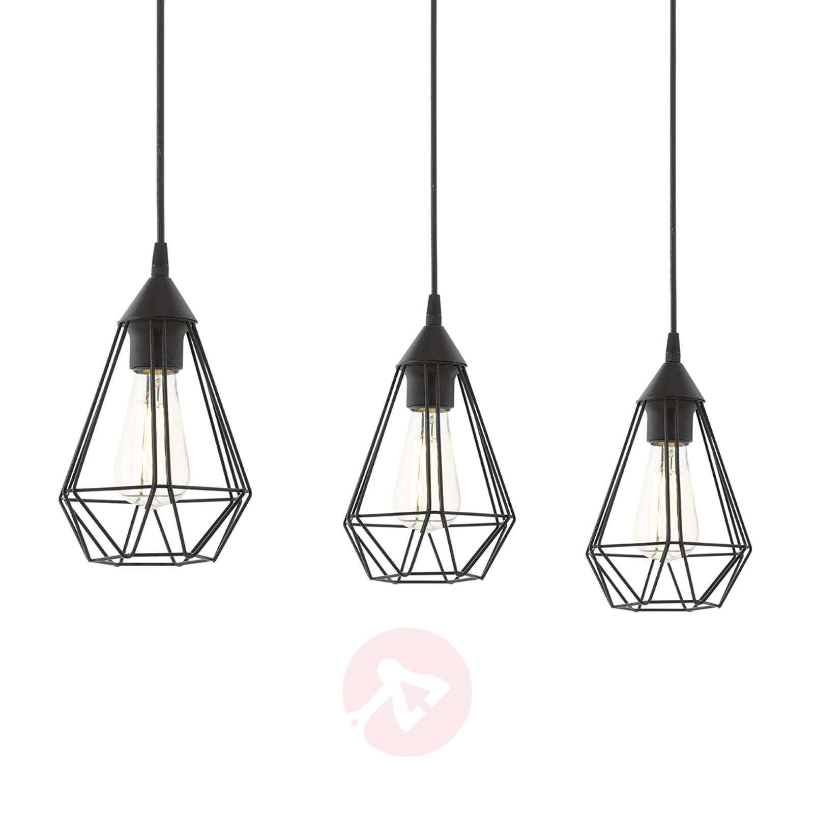 Tarbes - 3-bulb Hanging Light In A Vintage Design