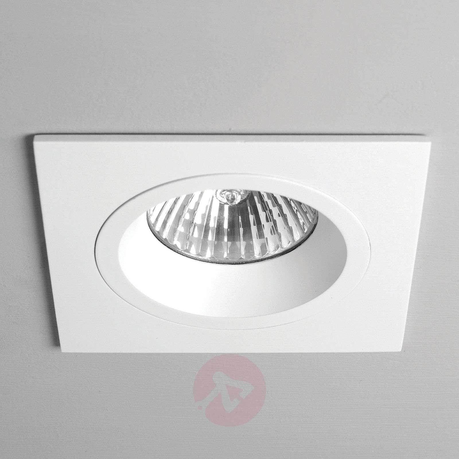 Taro Built-In Ceiling Spotlight Square Rigid White-1020358-02