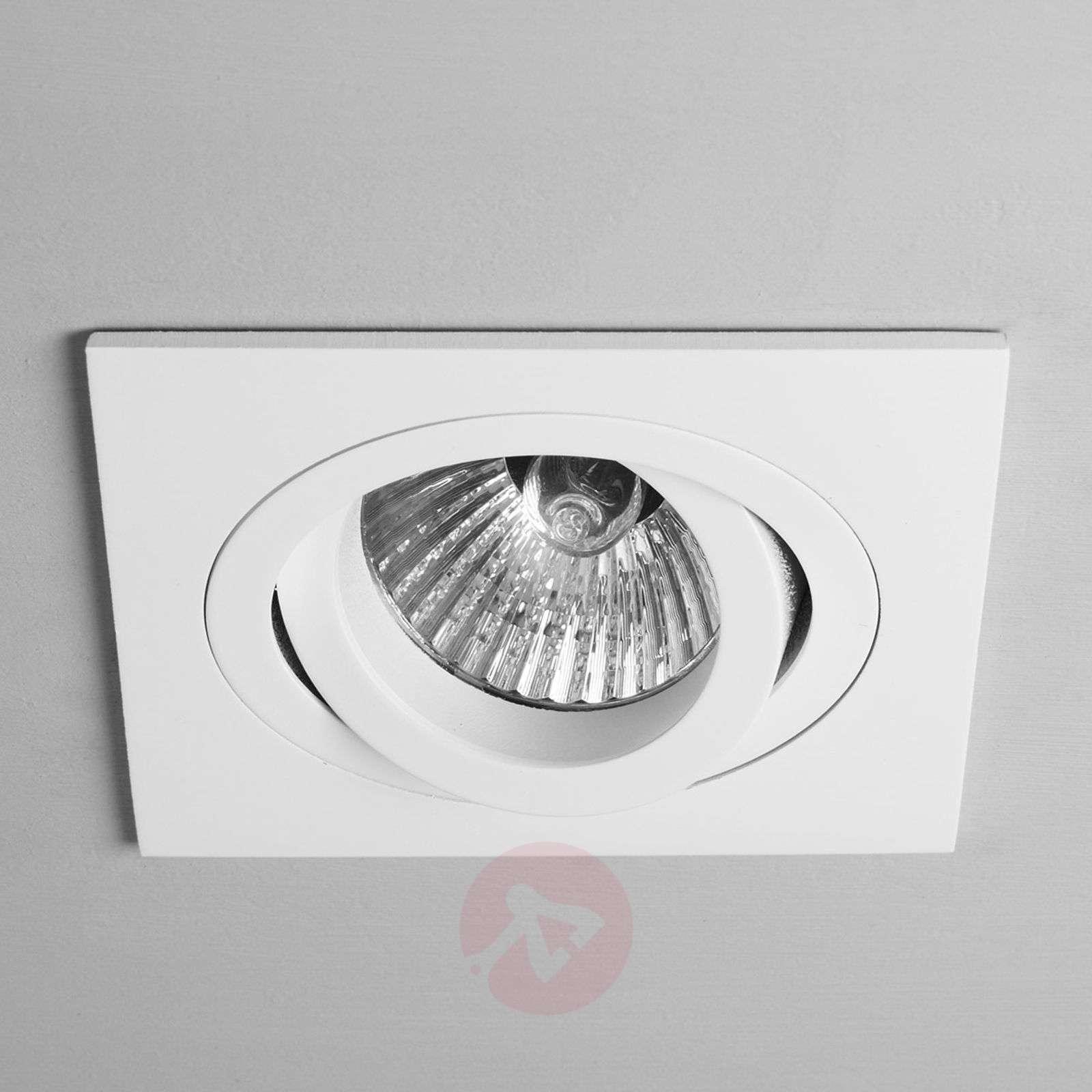 Taro Built-In Ceiling Spotlight Tiltable White-1020362-02