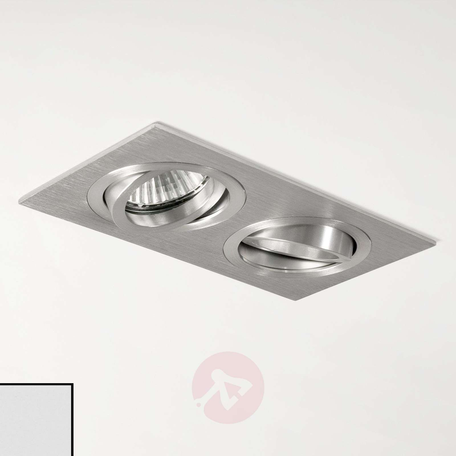 Taro Twin Built-In Ceiling Spotlight-1020352X-01