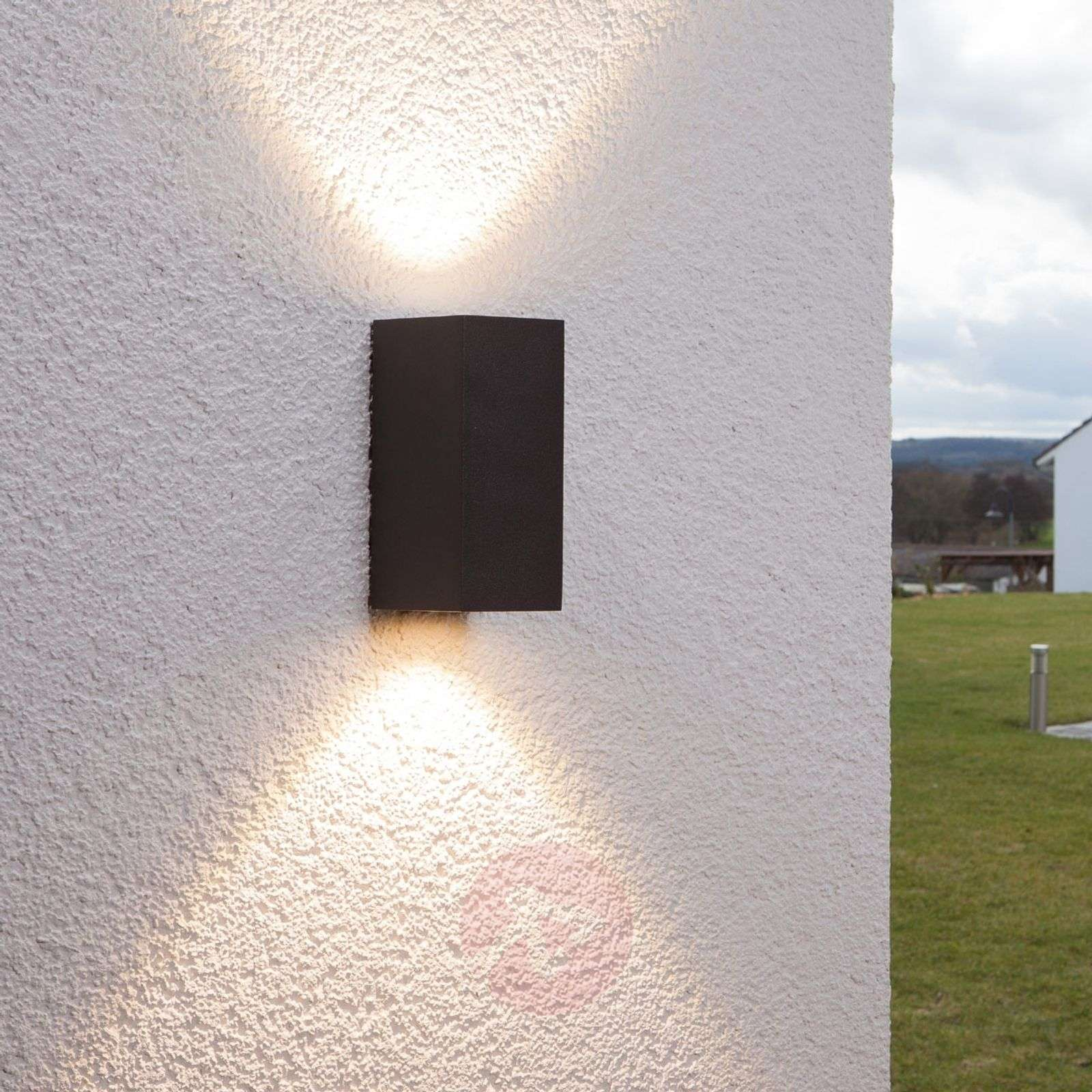 Tavi outdoor wall light with 2 Bridgelux LEDs-9616011-01
