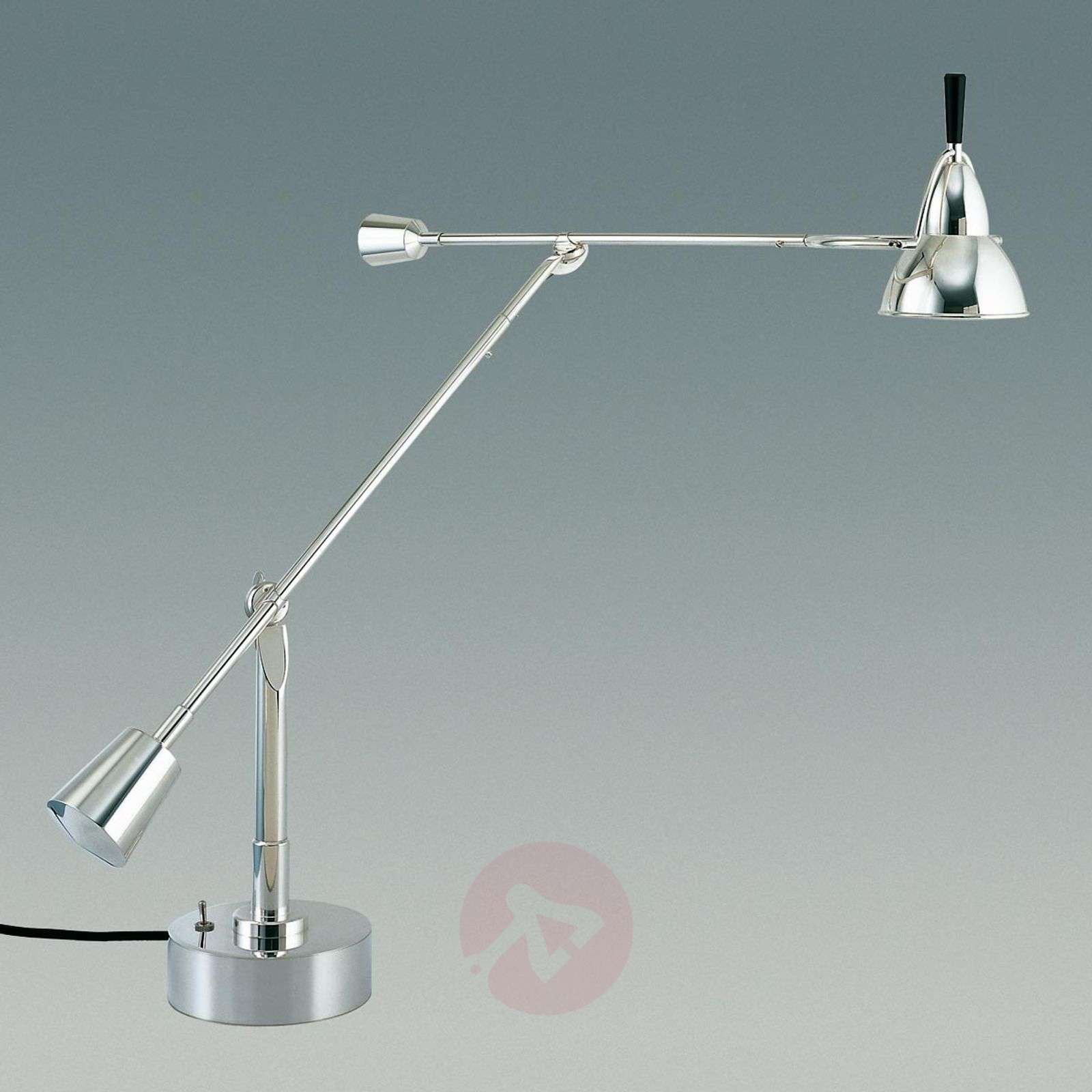 Tecnolumen Buquet LED table lamp, silver-plated-9030009-01