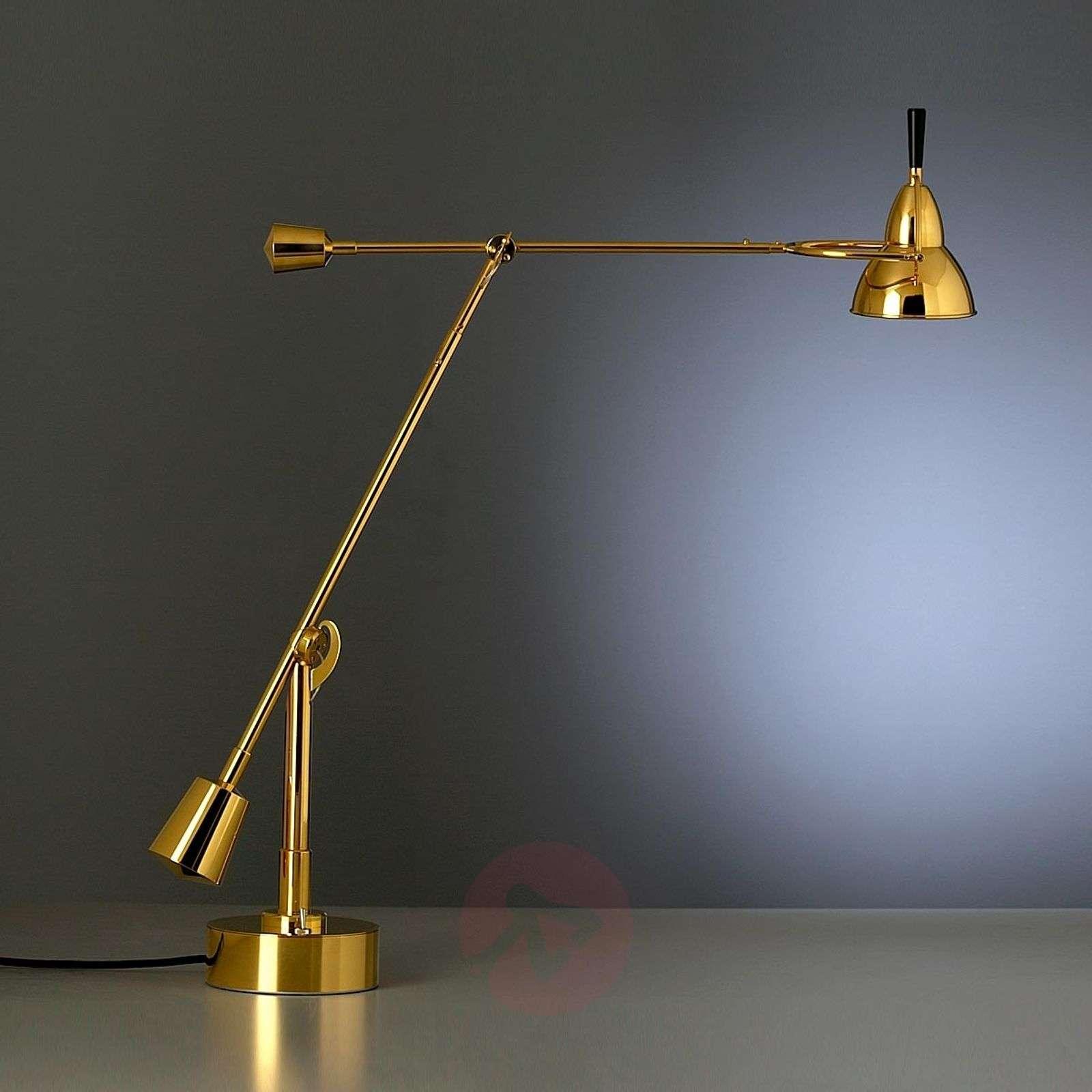 Tecnolumen Buquet table lamp, 24 carat gold-plated-9030011-01