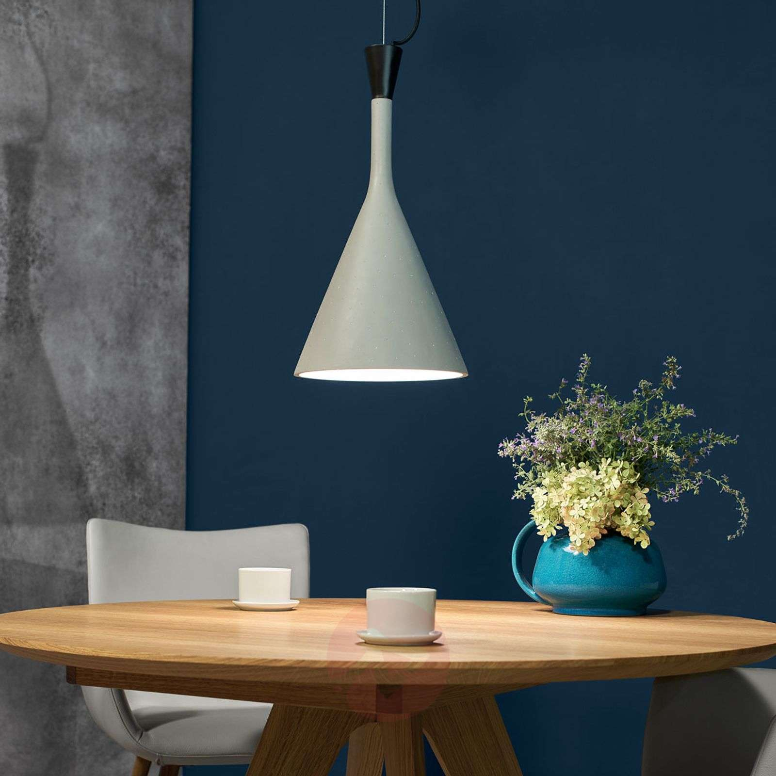 The concrete look Roddik pendant light-9004758-013