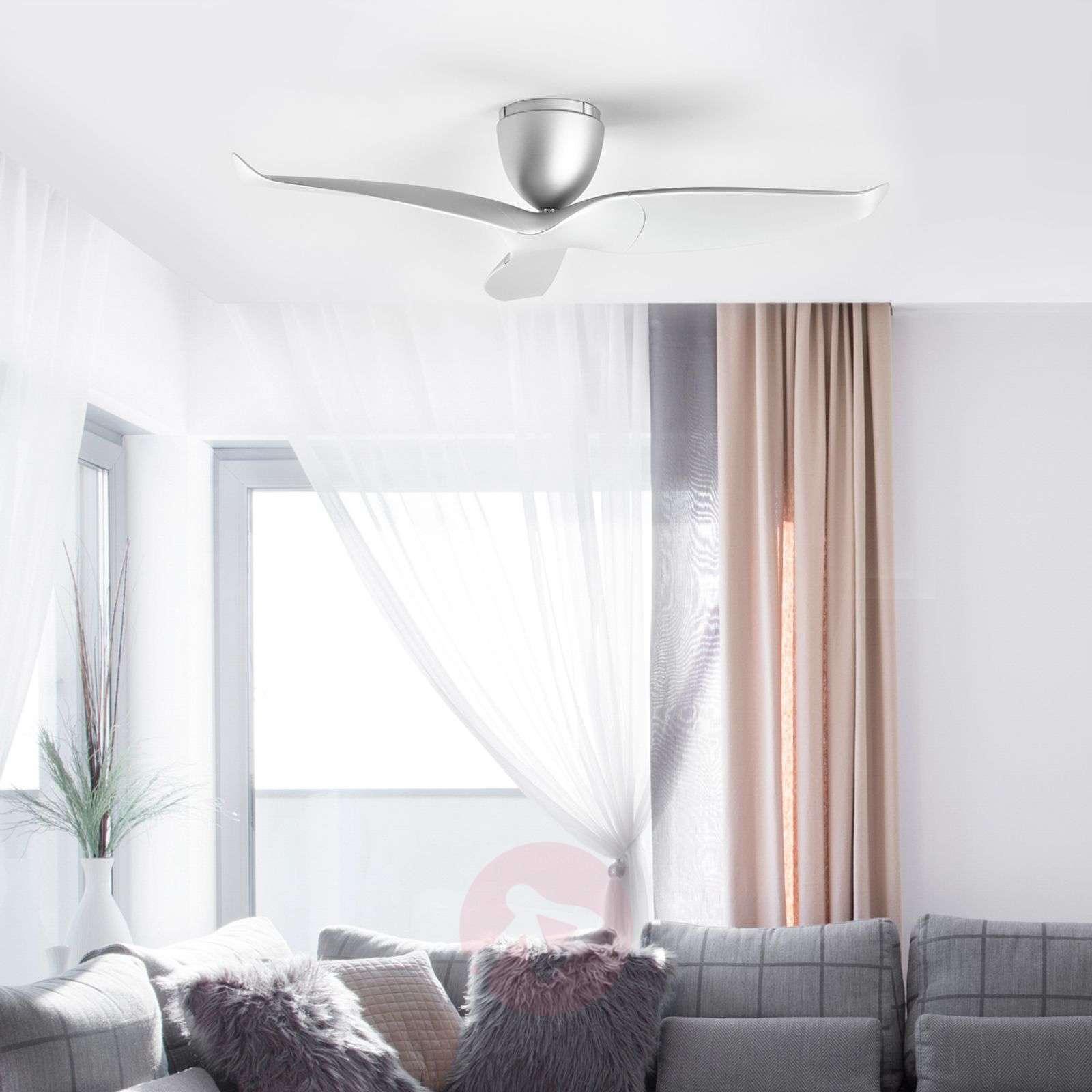 Three-blade ceiling fan Aeratron, silver-1068012-012