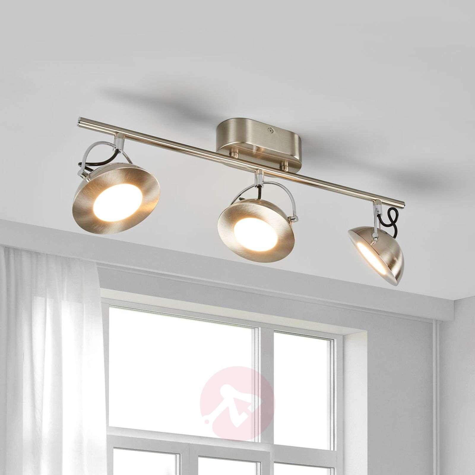 indirect ceiling lighting. Three-bulb Letora Indirect LED Ceiling Spotlight-3057096-01 Lighting