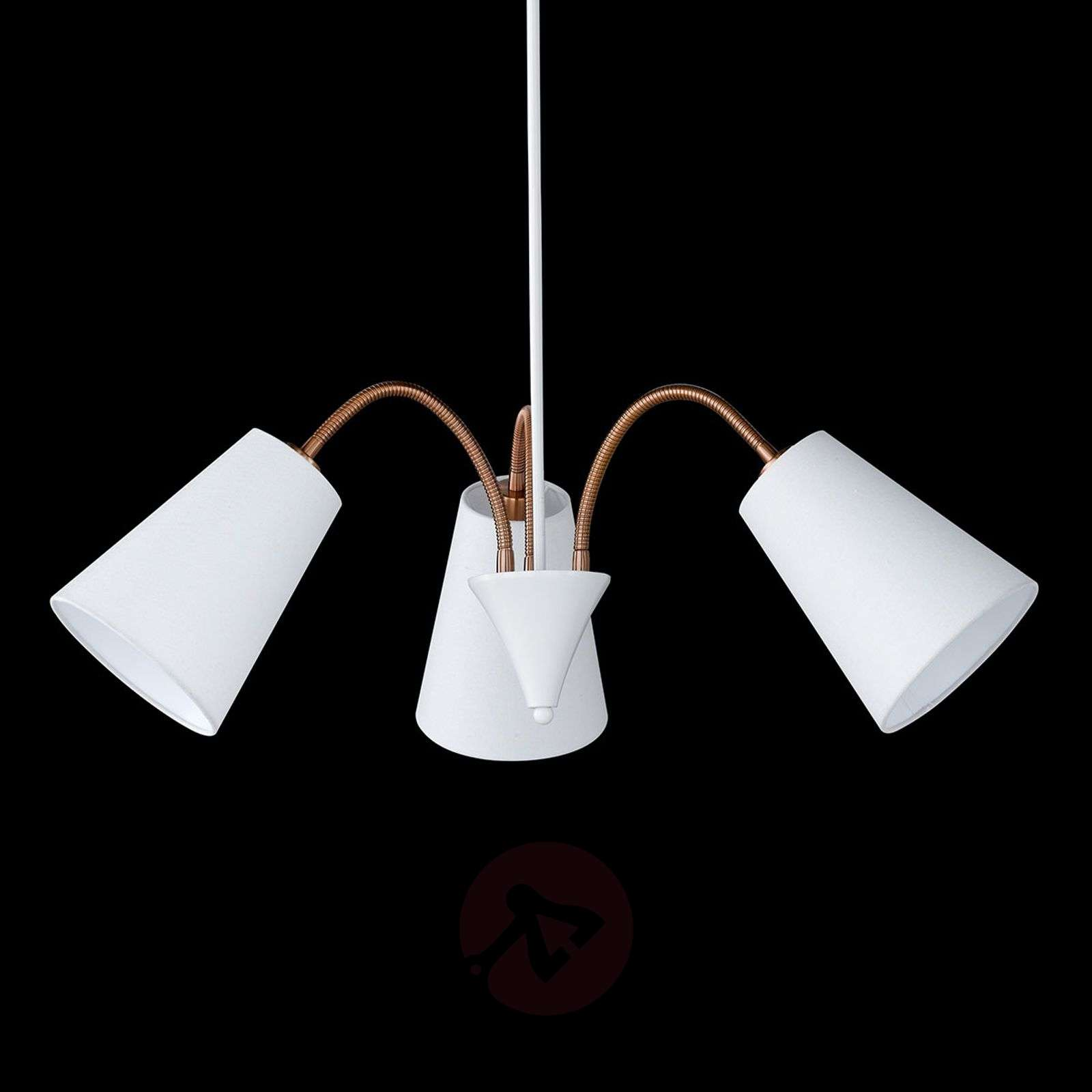 Three-bulb pendant light Hopper adjustable-4581562-01