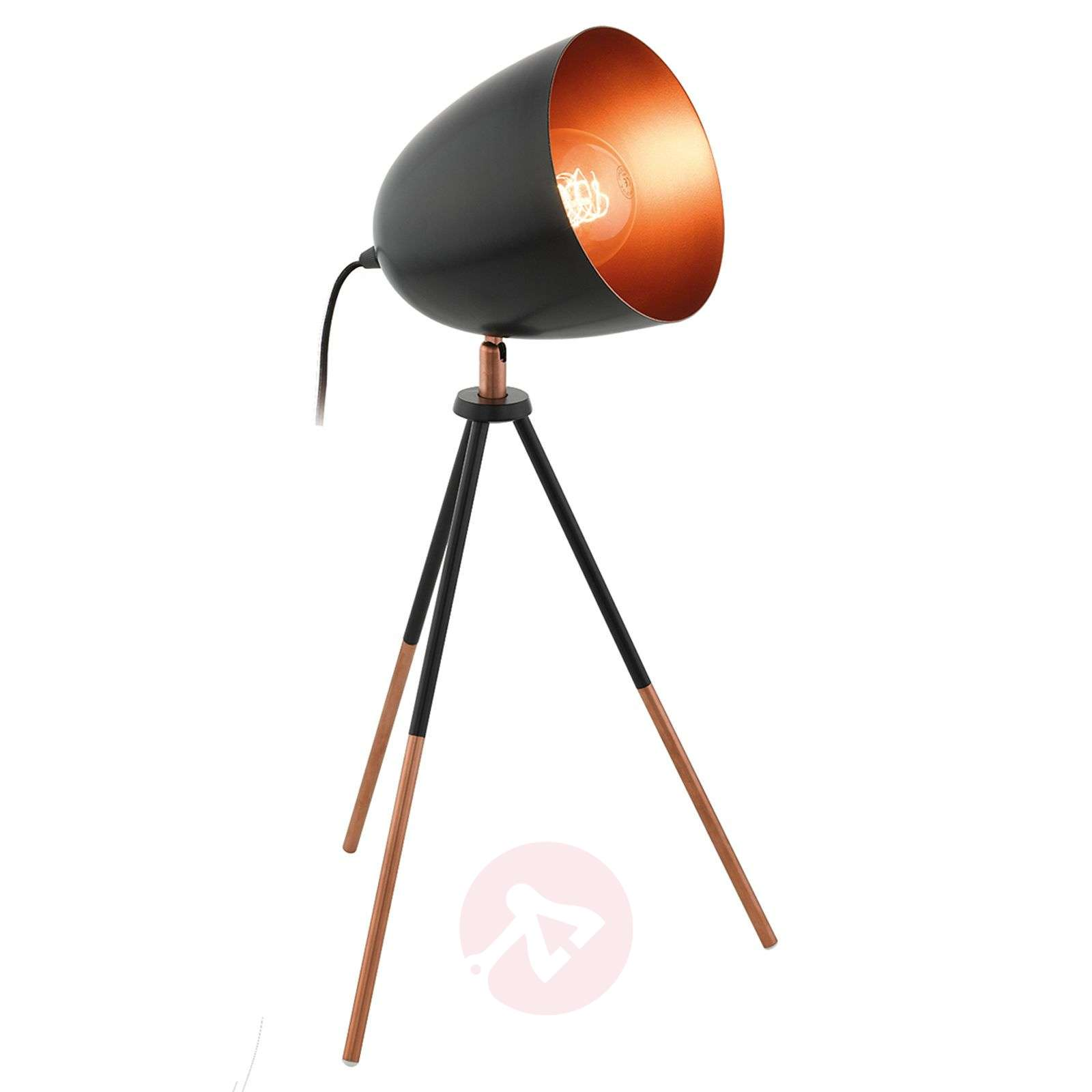 Three-legged table lamp Chester in a vintage look-3031876-01