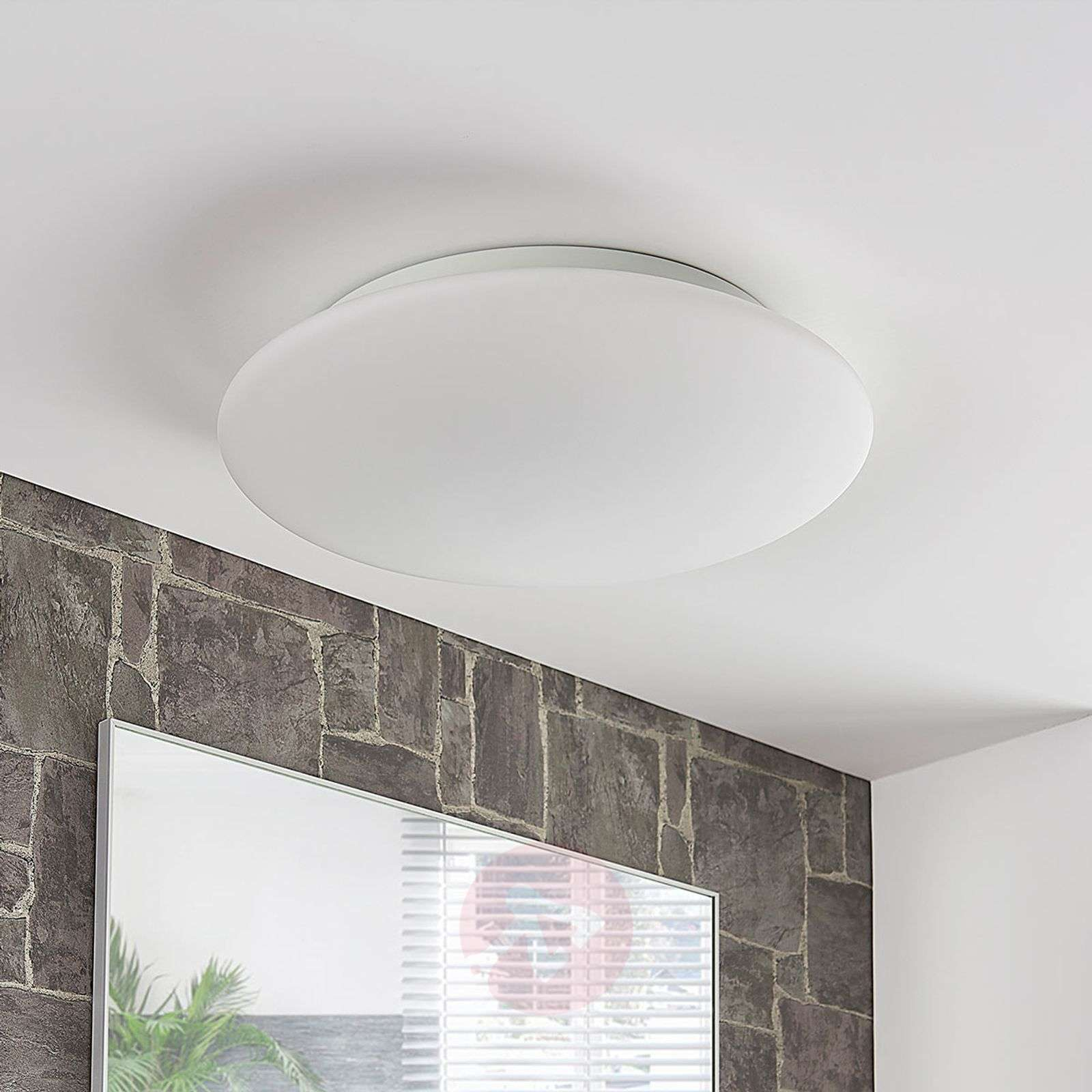 Three-way dimmable LED ceiling light Toan, IP44 | Lights.ie